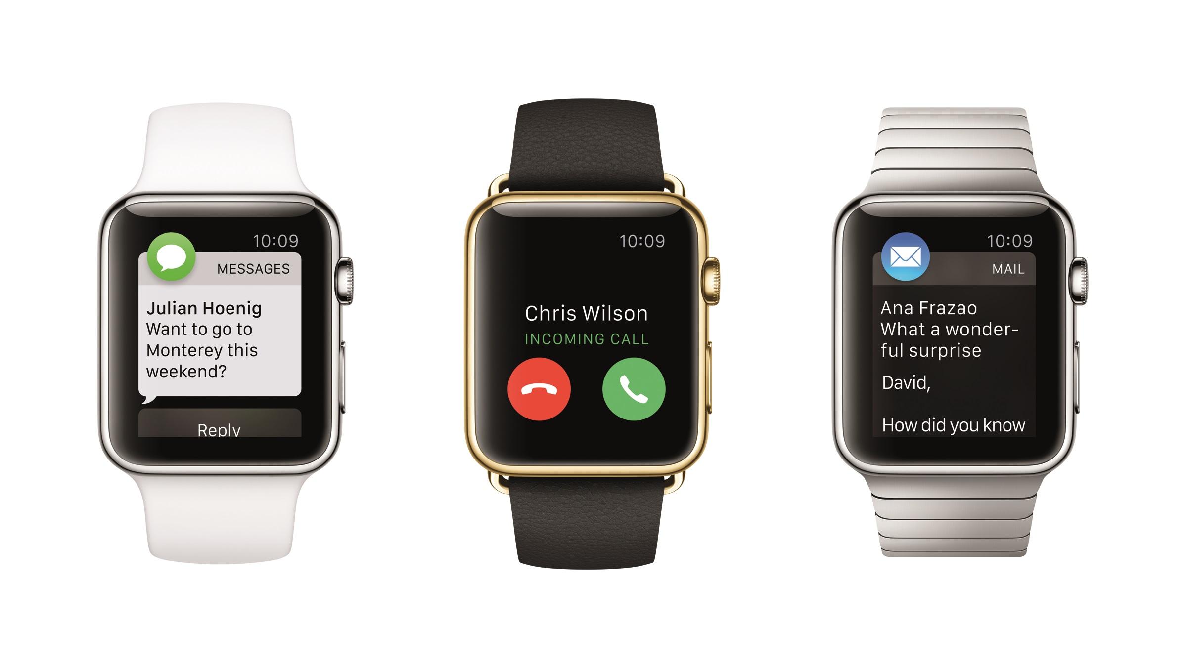 Apple Watch-eiere bruker gjerne klokken til å sjekke tiden.