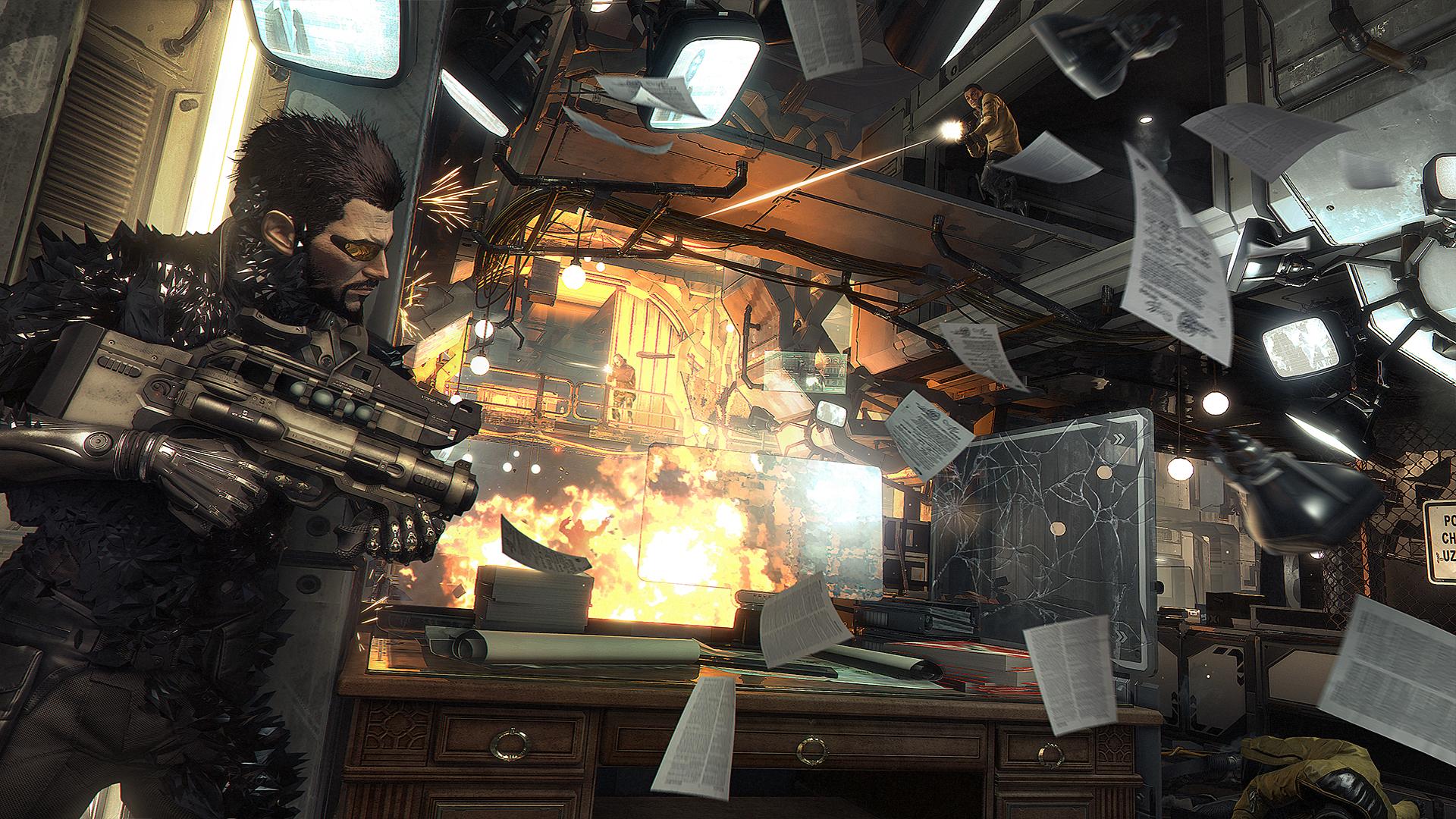 Deus Ex Mankind Divided vil komme med støtte for DirectX 12 rett ut av boksen.