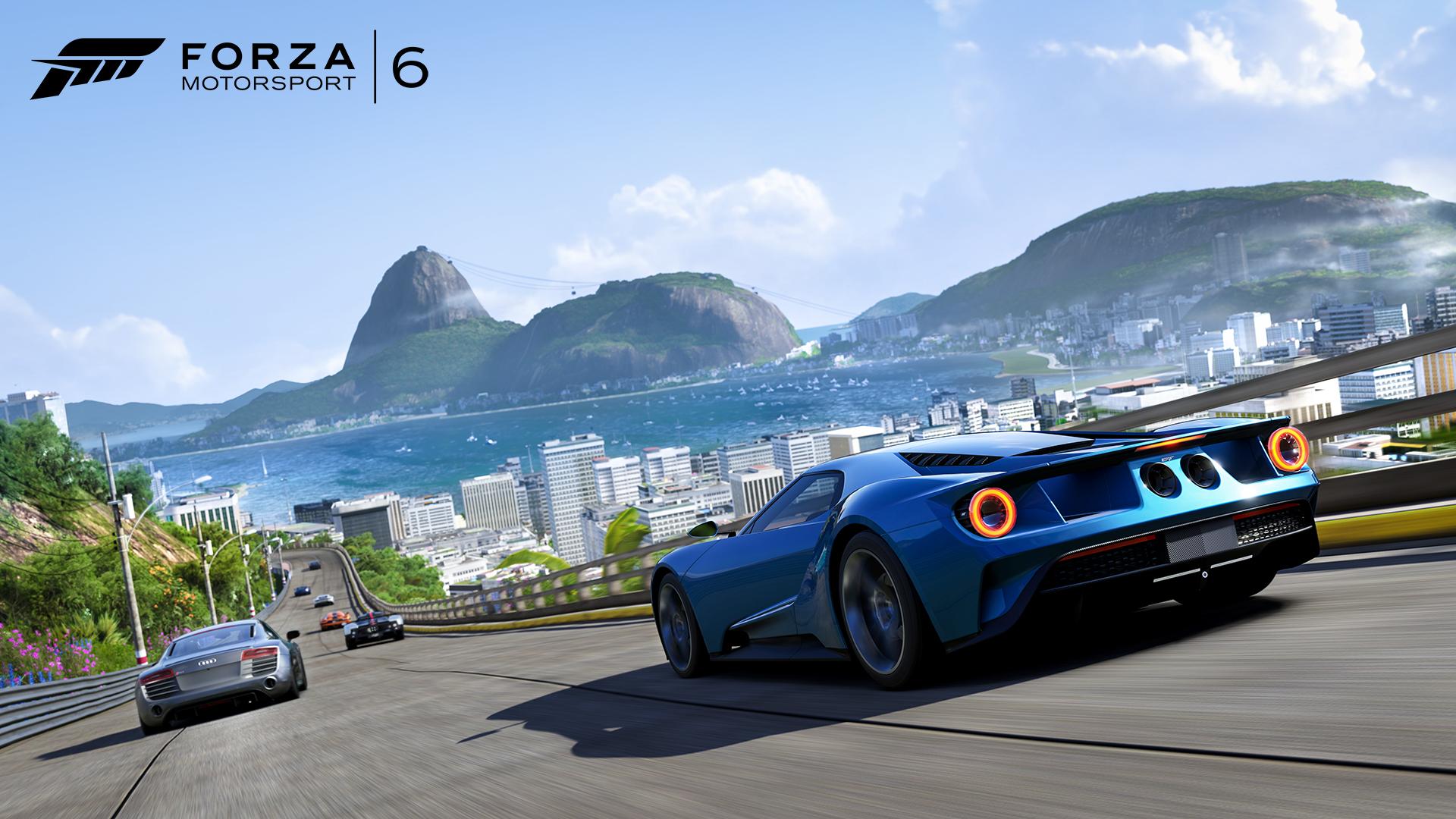 Test ut Ford GT i den ferske Forza 6-demoen.