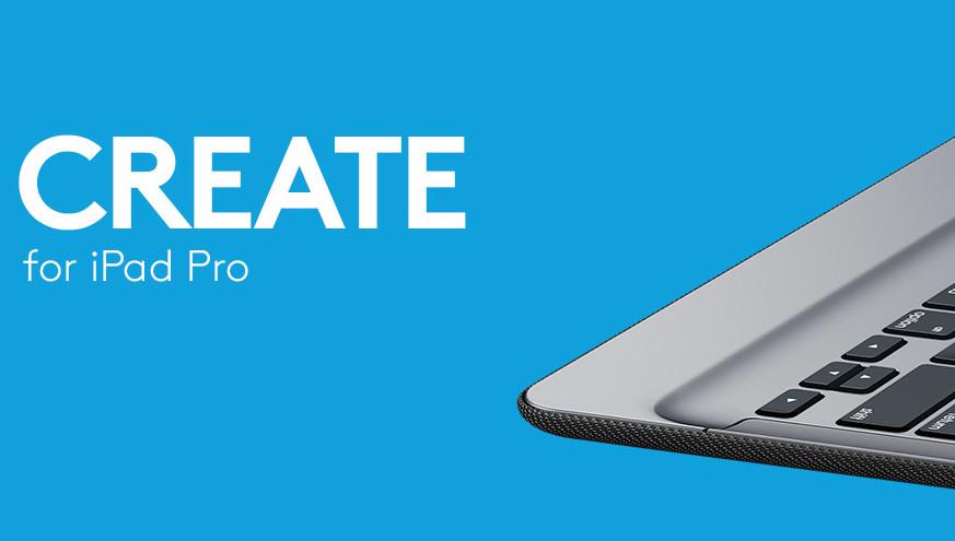 Logitech har utviklet et eget tastatur til iPad Pro.