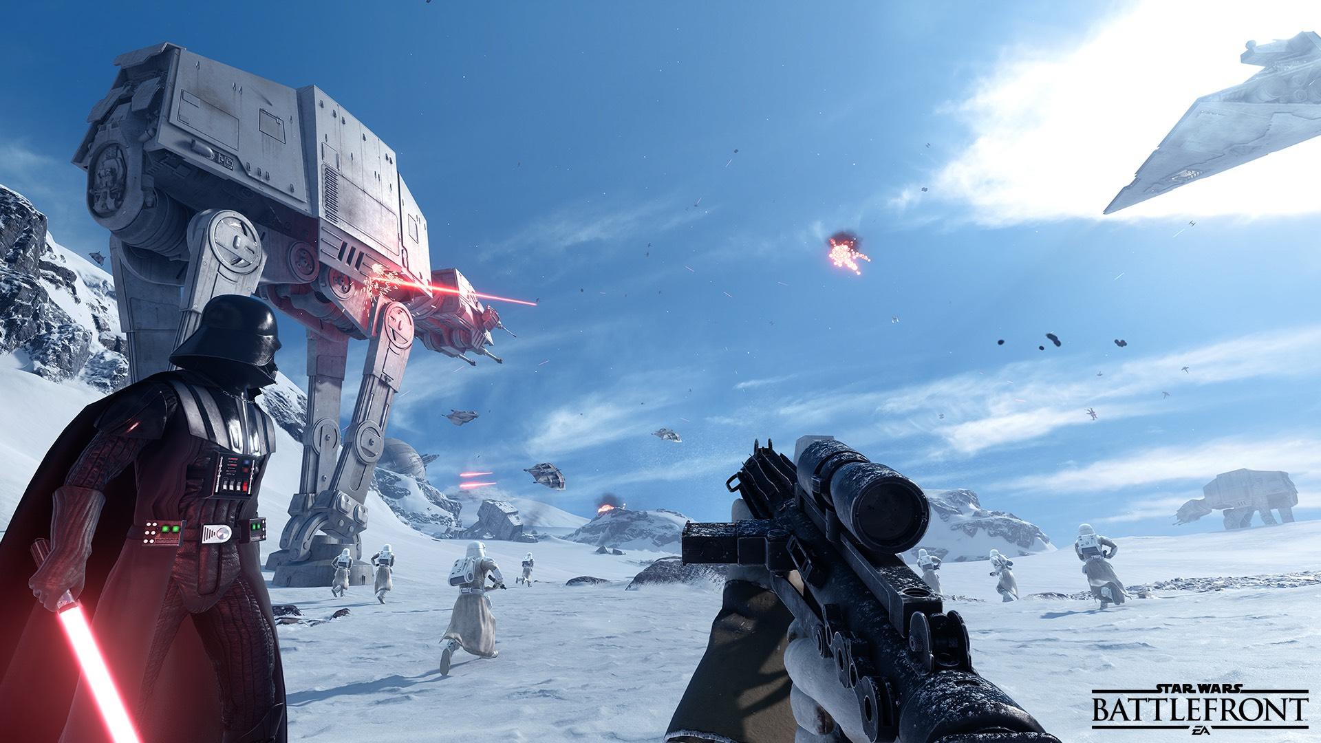 EA slipper Battlefront-beta tidlig i oktober.
