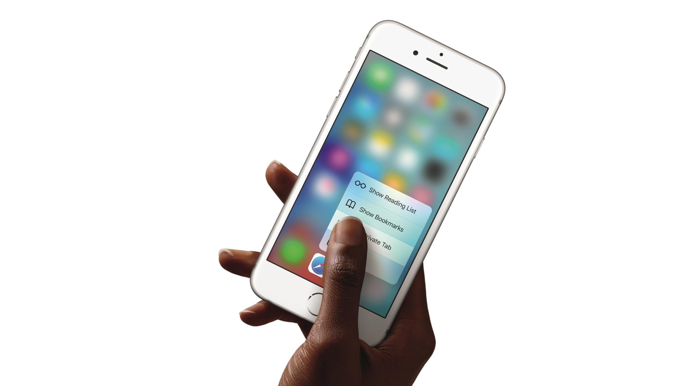 Her er den nye iPhone 6s, iPhone 7 kommer neste år og blir mye kraftigere.