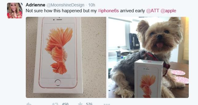 Denne Twitter-brukeren er kanskje litt mer heldig enn andre.