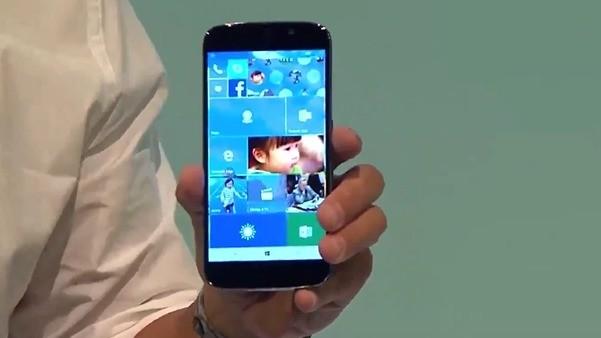 Acer annonserer en toppmodell med Windows 10 Mobile.