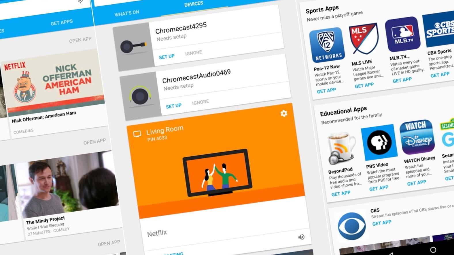 Den nye Chromecast-appen kommer med en rekke nye funksjoner.