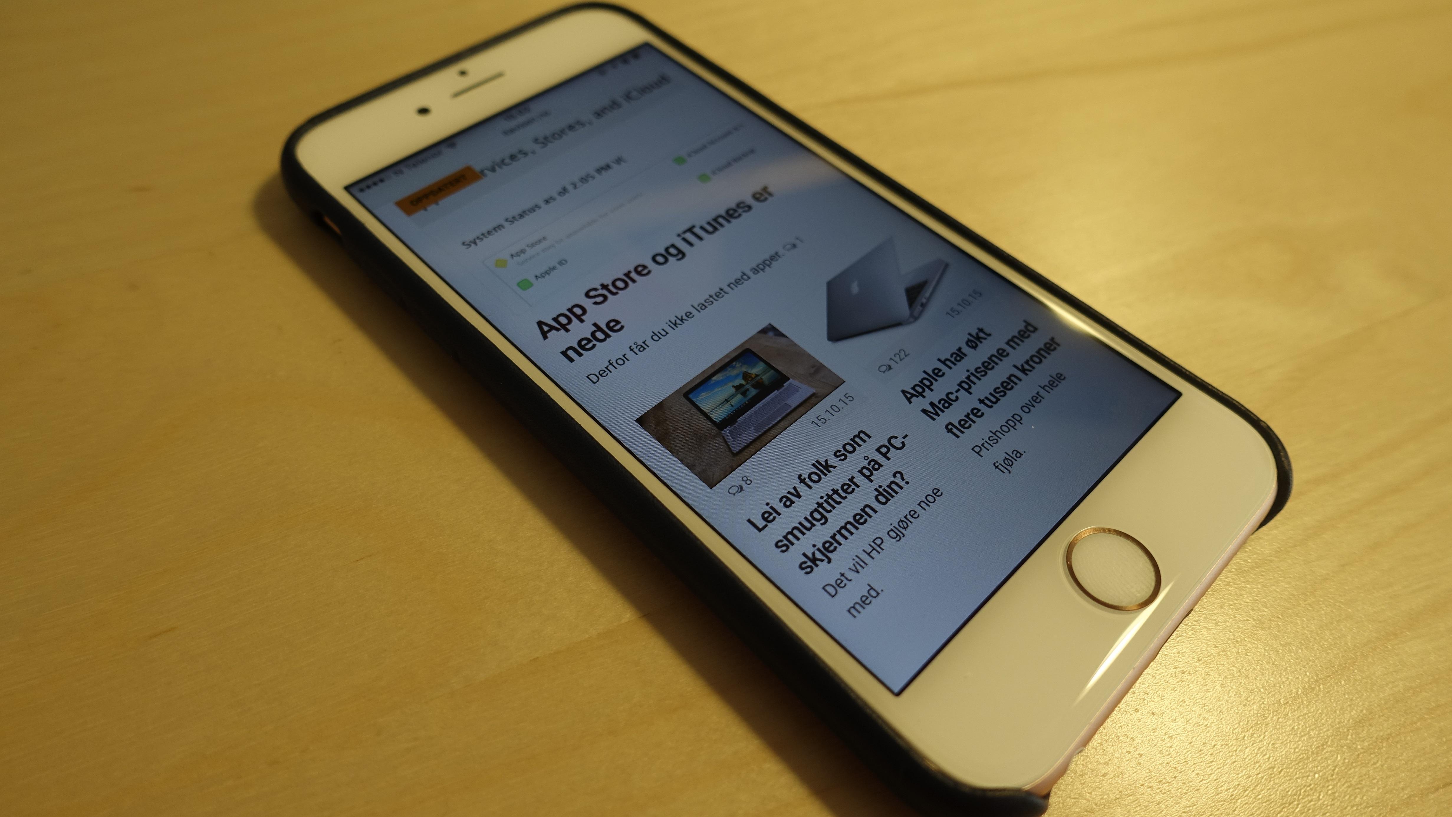Du får fortsatt høy fart på 4G med iPhone 6s, men du får ikke den raskeste.