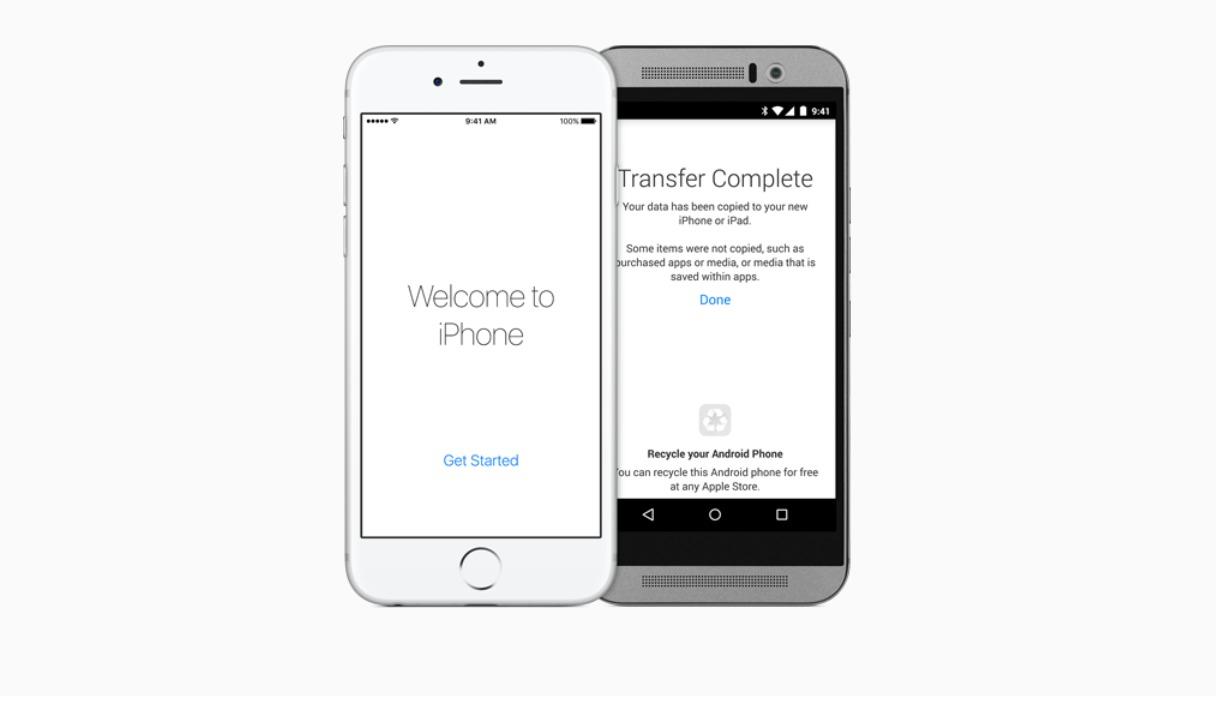 Apple uttaler at det aldri har vært like mange som bytter fra Android til iPhone.