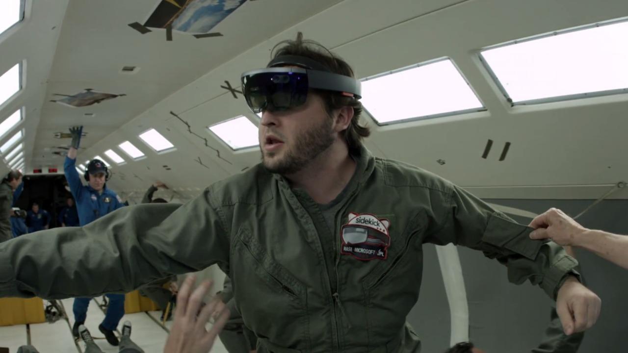 Microsoft og NASA tar HoloLens ut i verdensrommet. Planlegger Magic Leap noe tilsvarende?