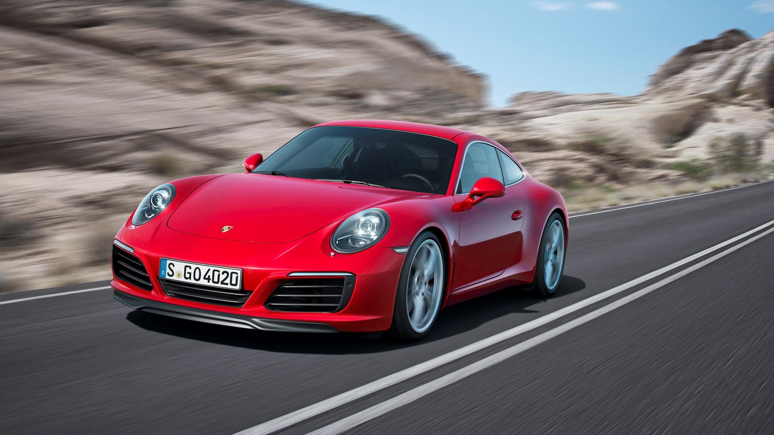 2017-utgaven av Porsche 911 vil ha større for CarPlay, men ikke Android Auto.|