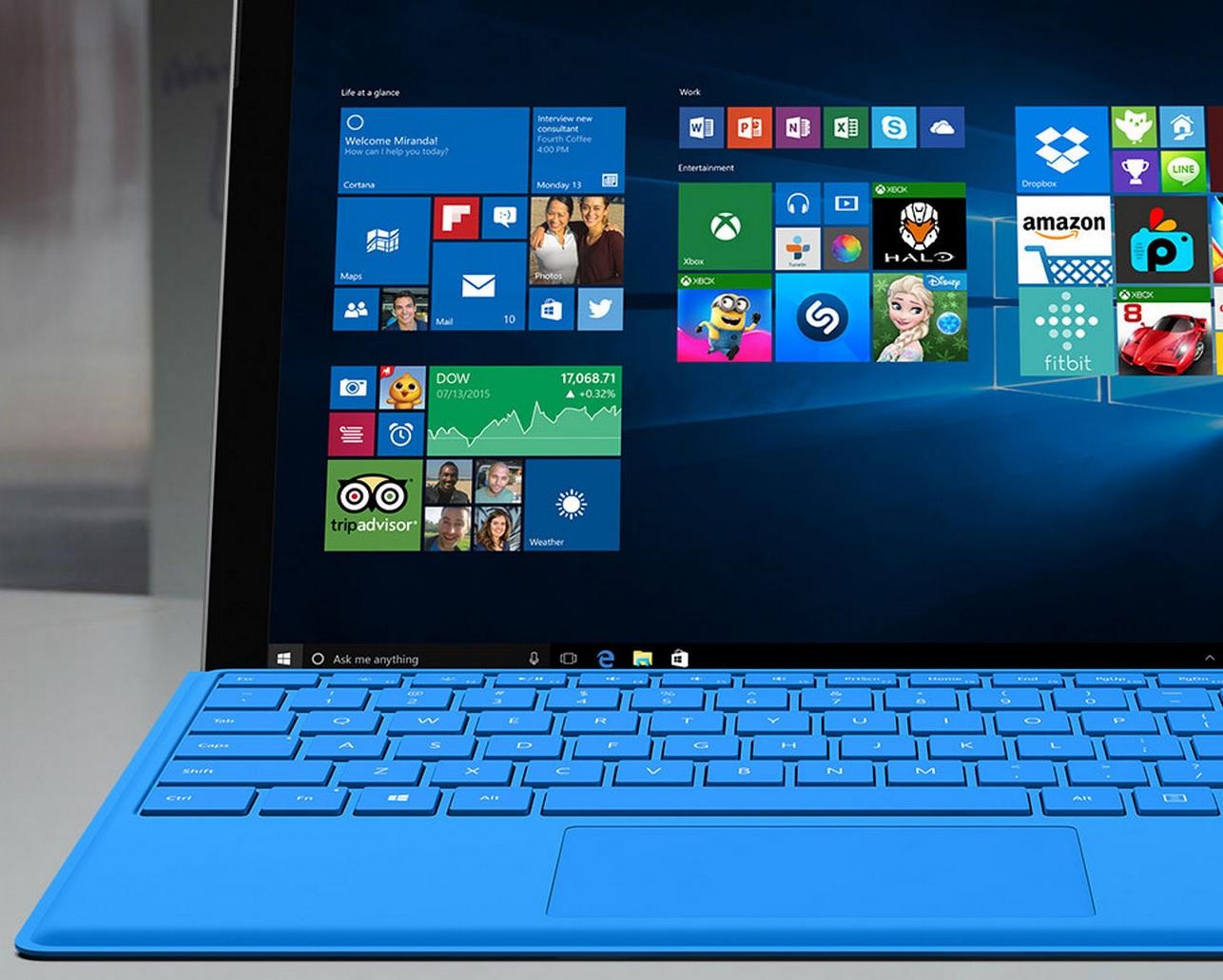 Microsofts nye Surface 4 Pro-hybrid PC.
