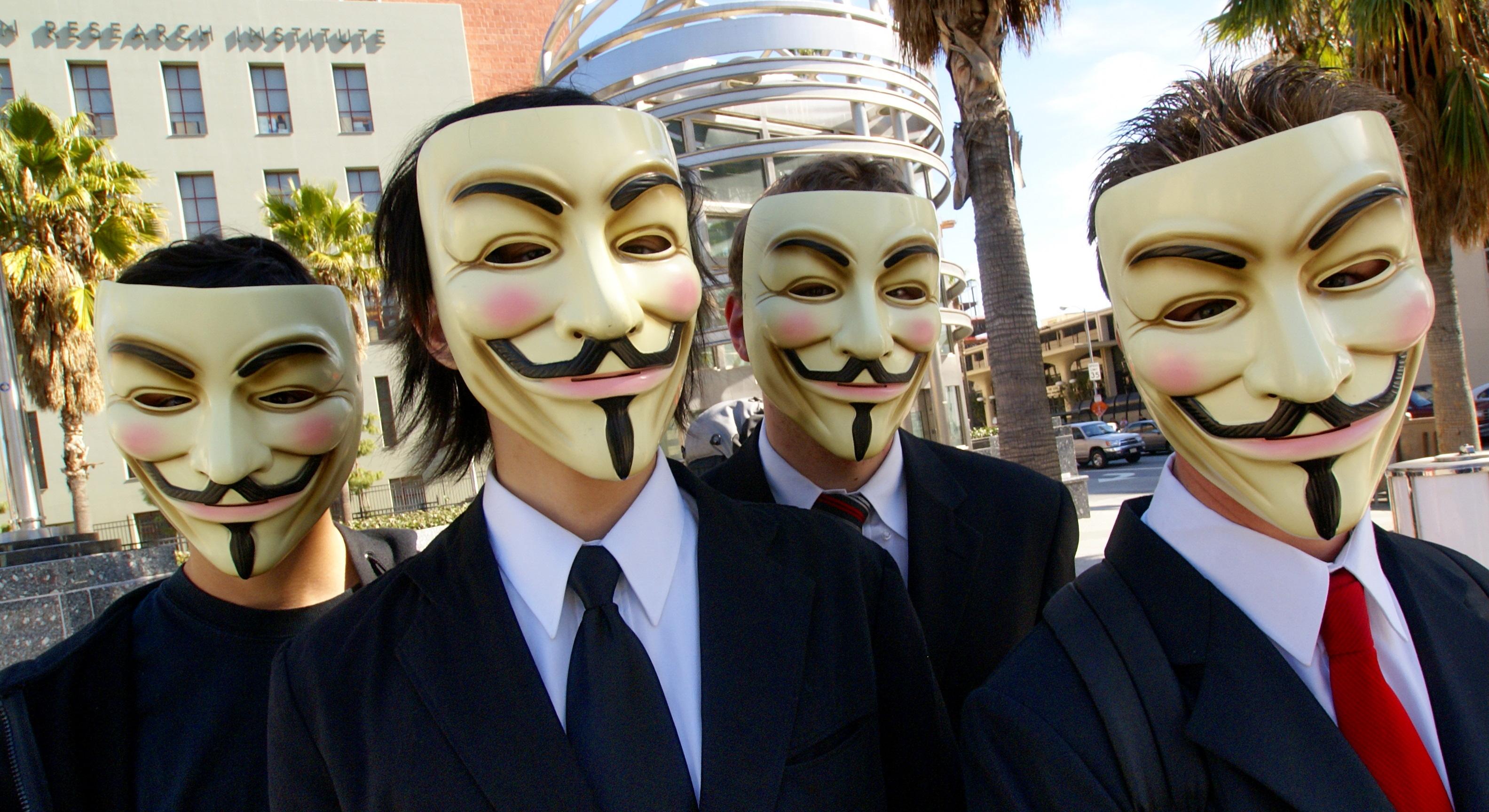 Anonymous har erklært krig mot terrorgruppen IS.
