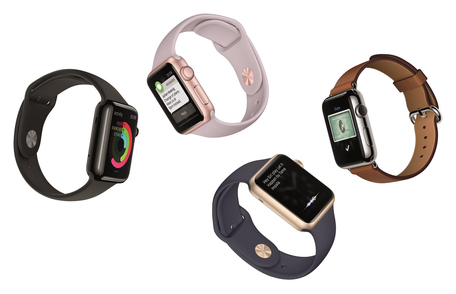 Apple Watch påvirker salget av sveitsiske armbåndsur.