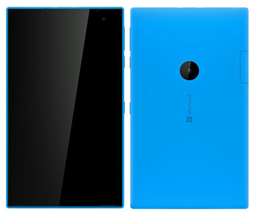 Dette er visstnok en tegning av et Microsoft/Nokia-nettbrett som aldri ble noe av.