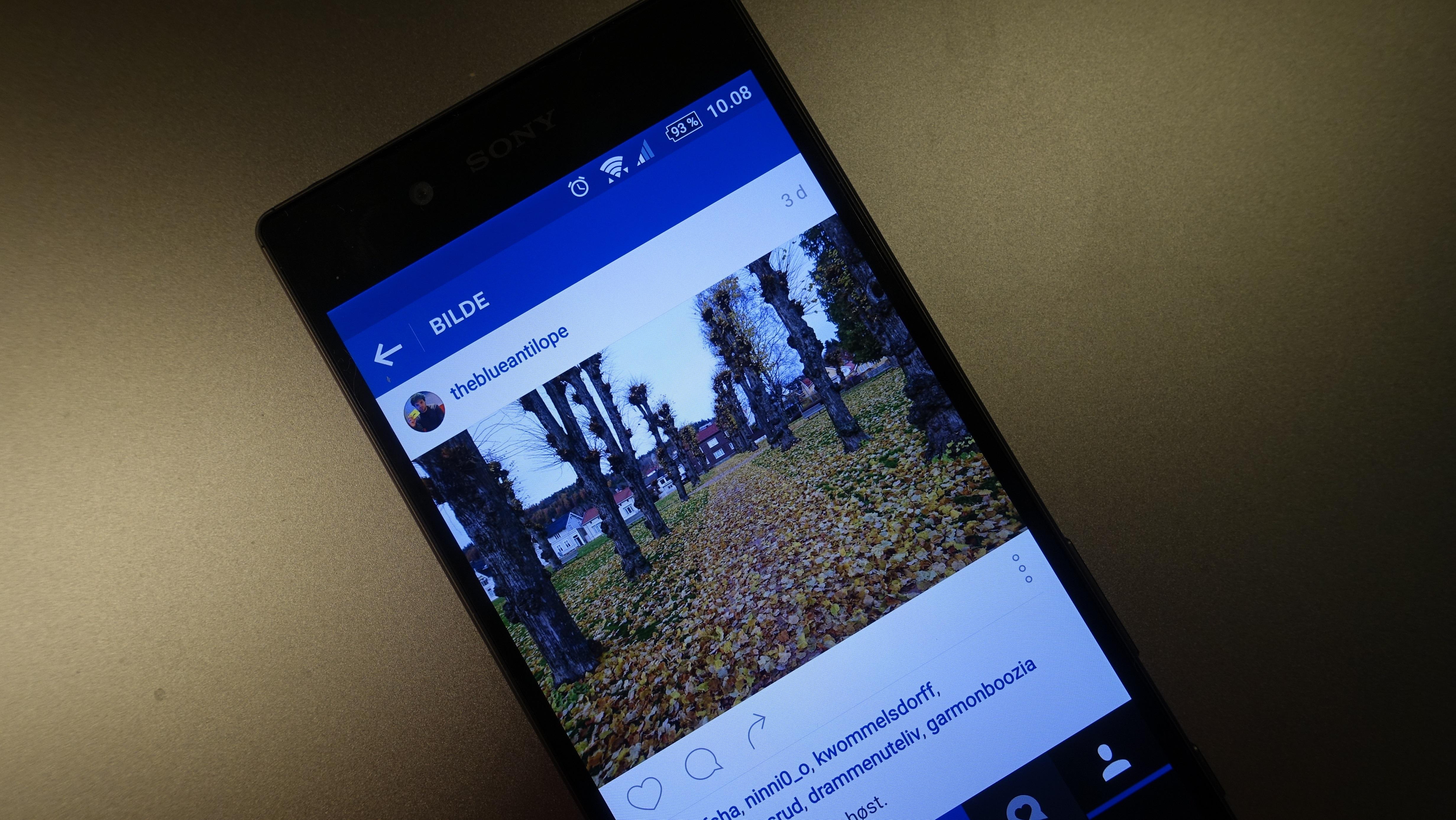 En Instagram-app skal ha sendt brukerinformasjon til en ekstern server.
