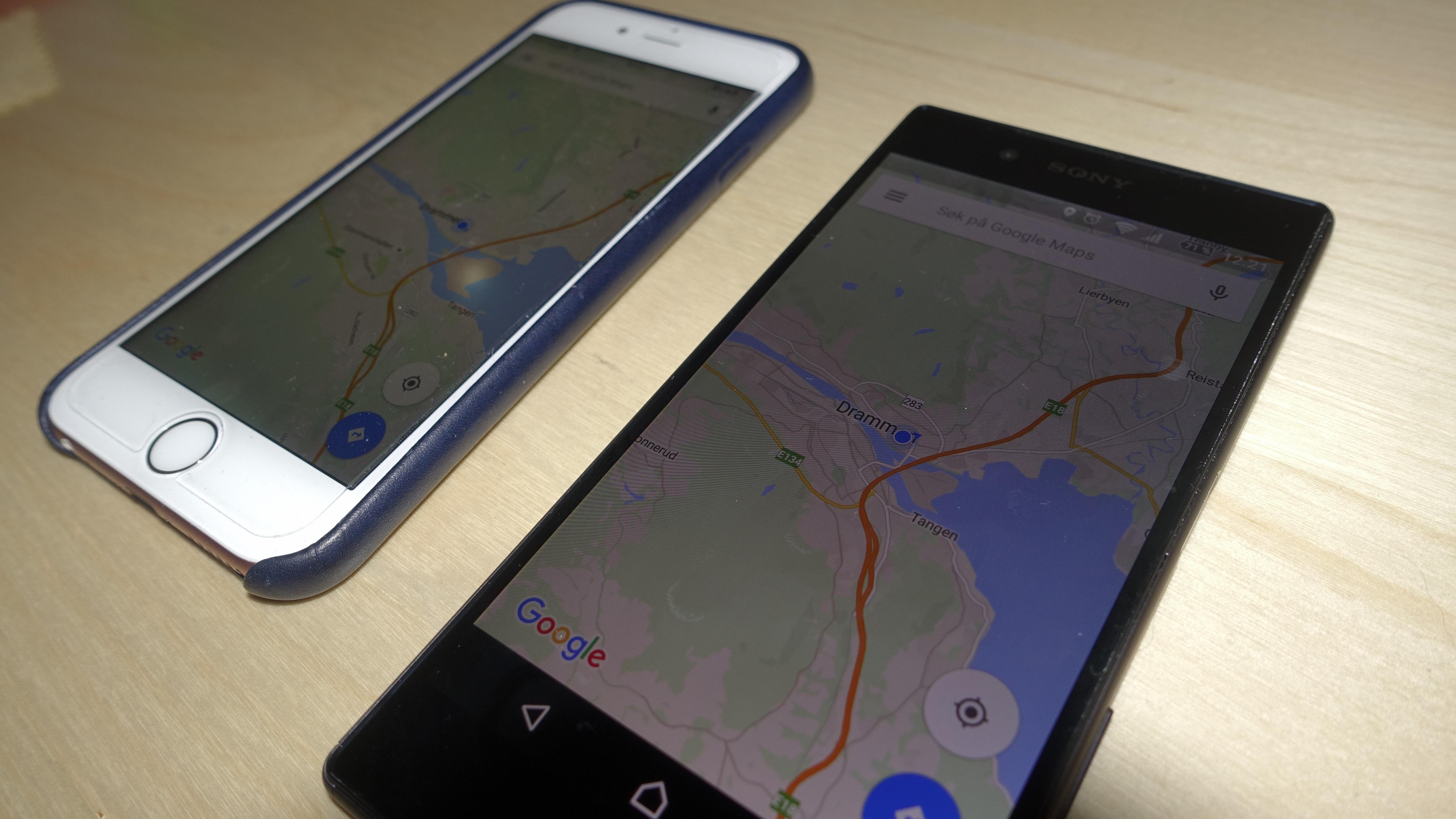 Google Maps til iOS og Android får snart frakoblet navigering.