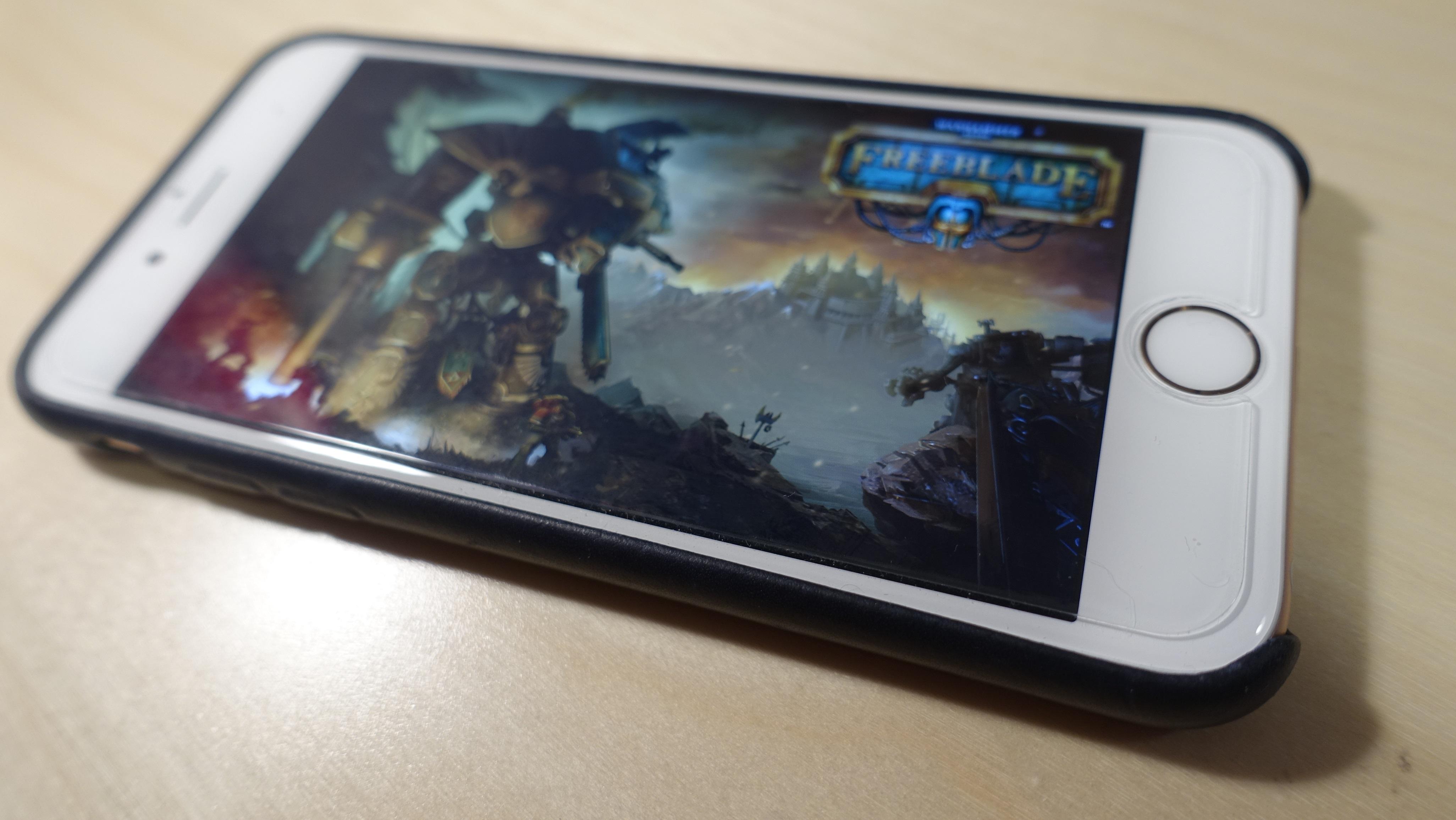 Warhammer 40 000: Freeblade bruker 3D Touch.