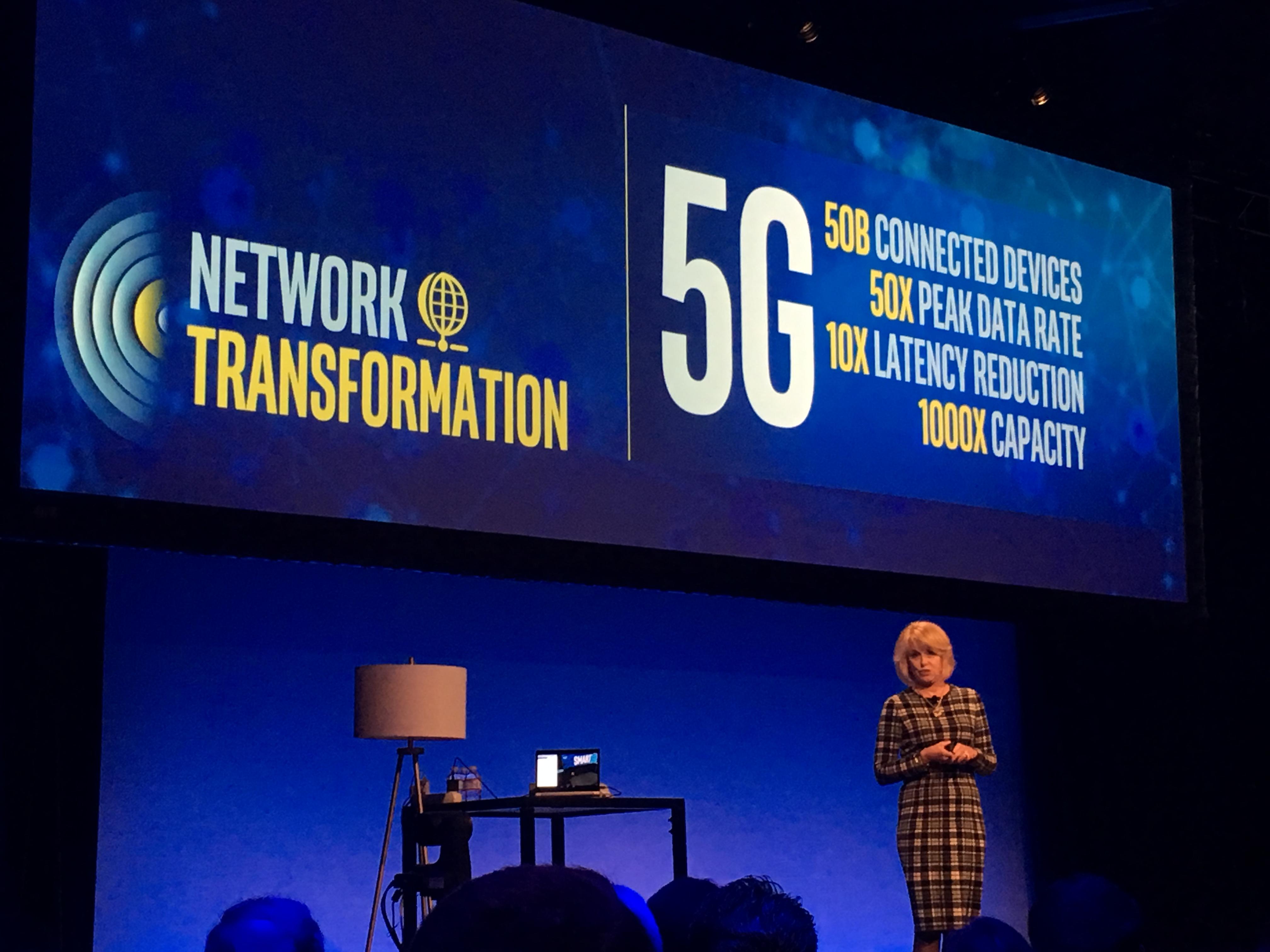 Intel hevder 5G må til før vi virkelig får en tilkoblet verden.