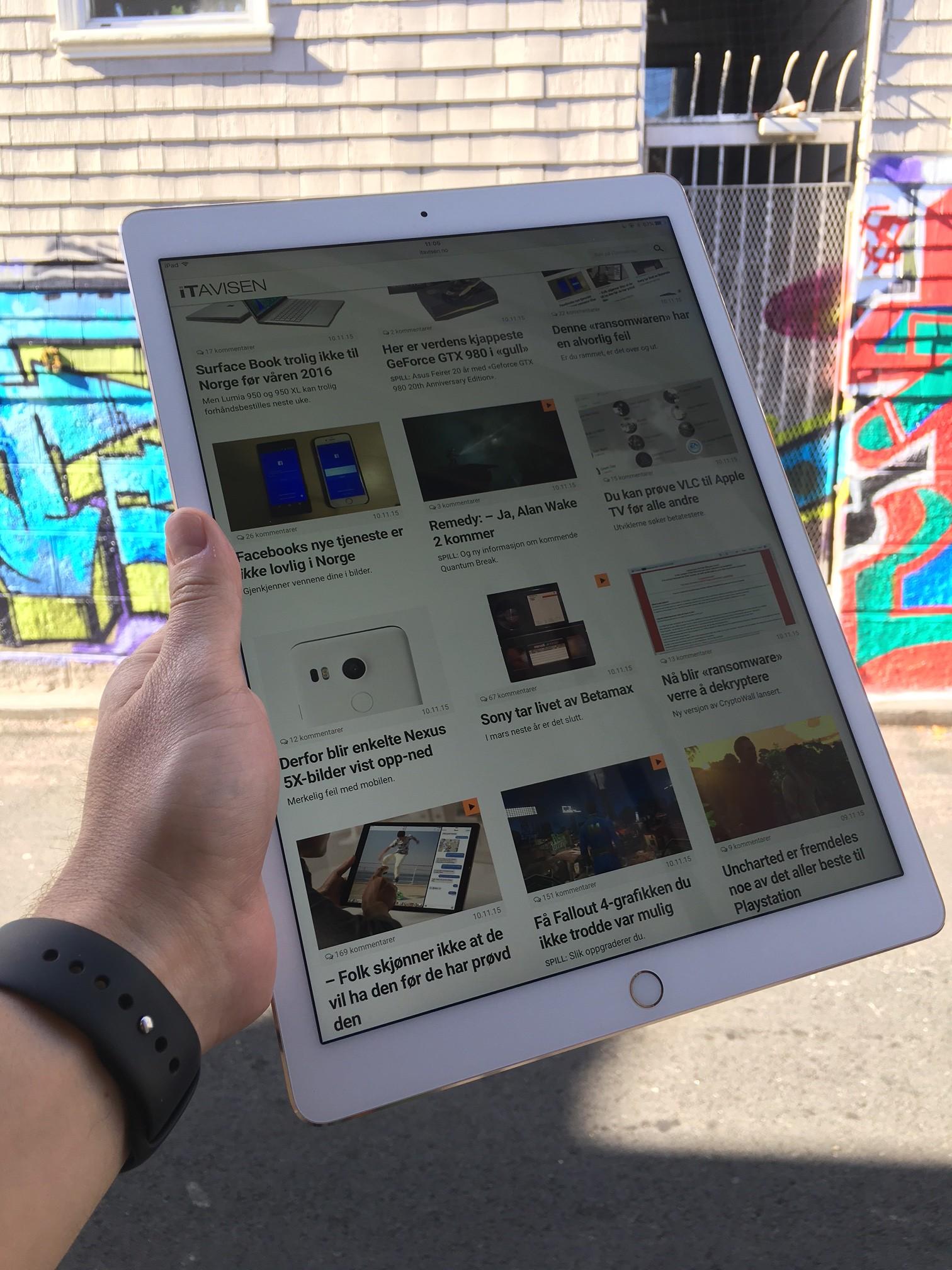 At iPad Pro er ment som en laptop-erstatter er det ingen tvil om.