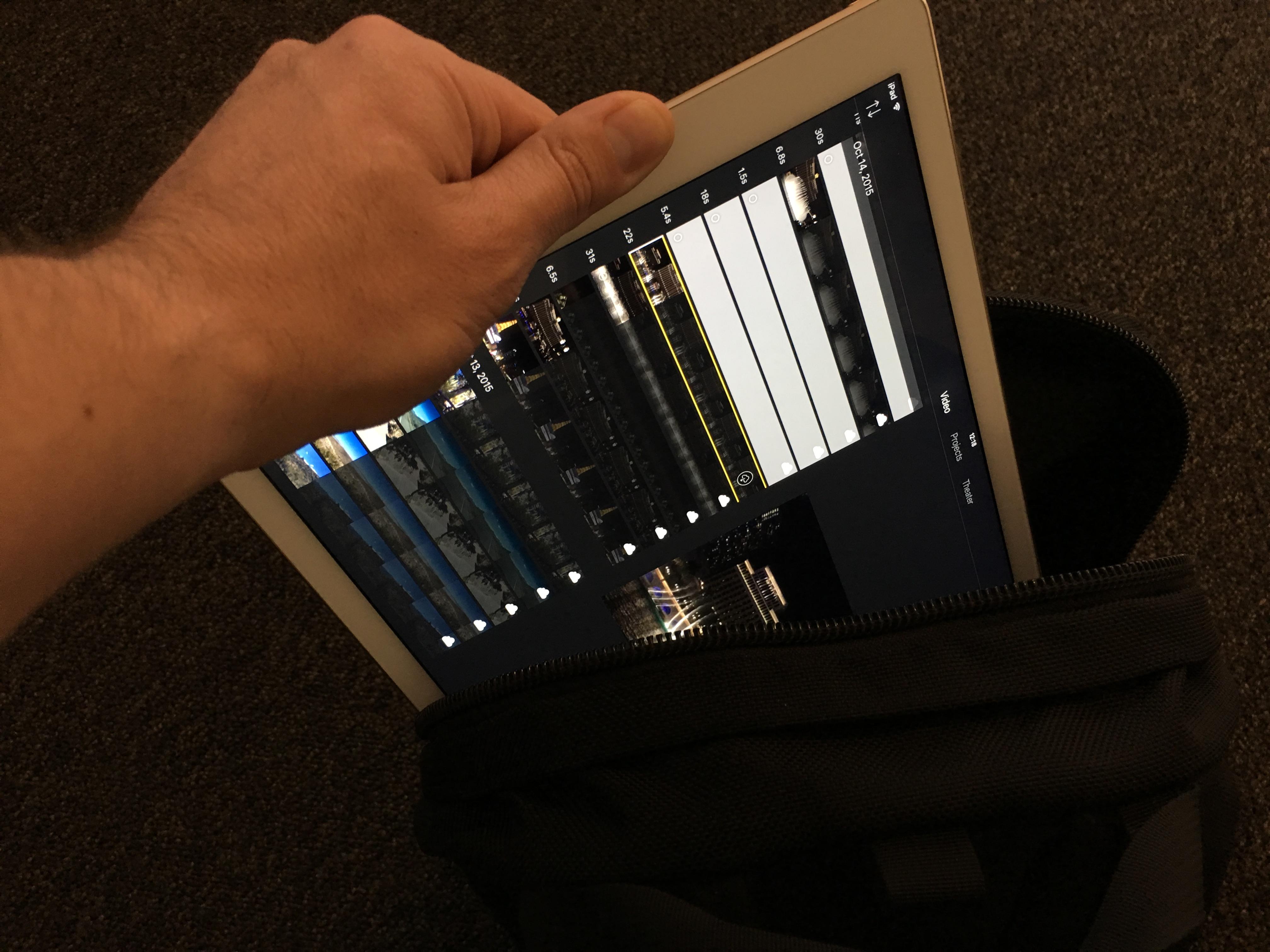 Du får masse rå kraft i tynne iPad Pro.