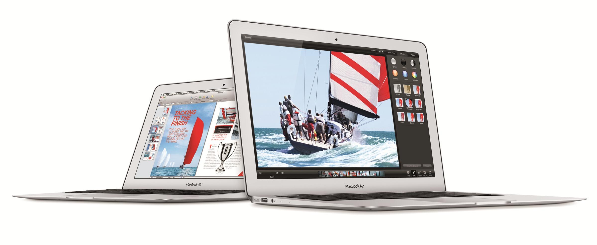MacBook Air fra 2009 er ikke lenger støtte av Apple. Dette er den nyeste versjonen.
