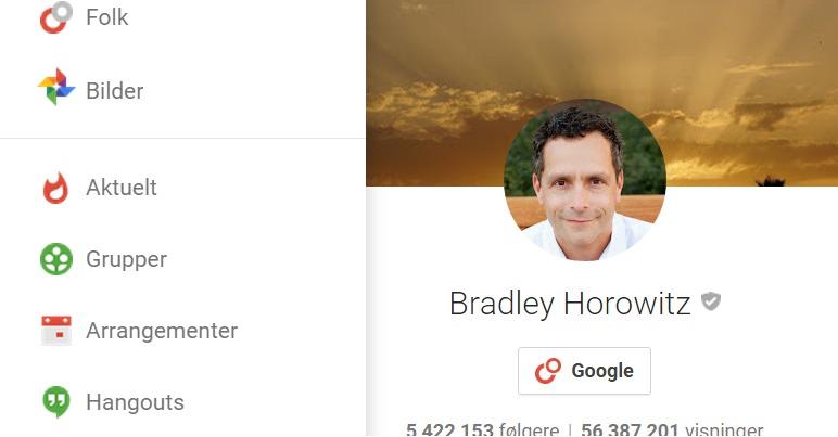 Google oppdaterer Google+.
