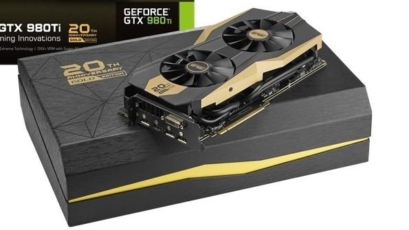 GTX 980 Ti 20th Anniversary Gold Edition er et par tusenlapper dyrere, men er også 27 prosent kjappere enn Nvidias referansedesign.