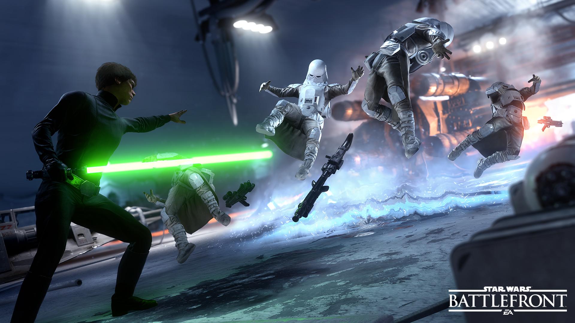 Battlefront byr på underholdende flerspiller.