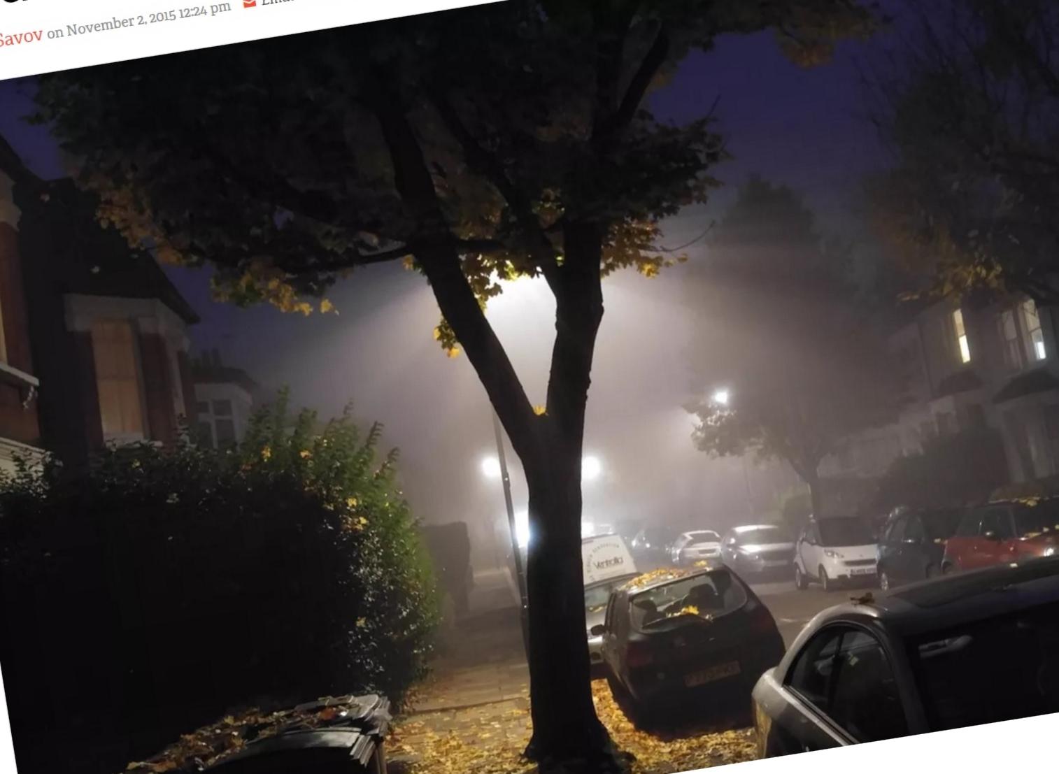 LG V10 tar svært imponerende bilder selv når det er dårlig med lys.