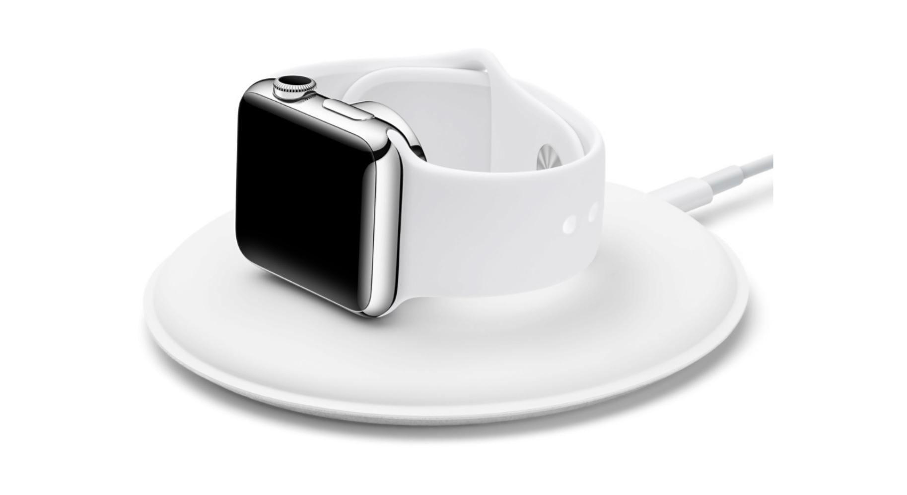 Apples enkle tilbehør kommer med en 2 m ladekabel.