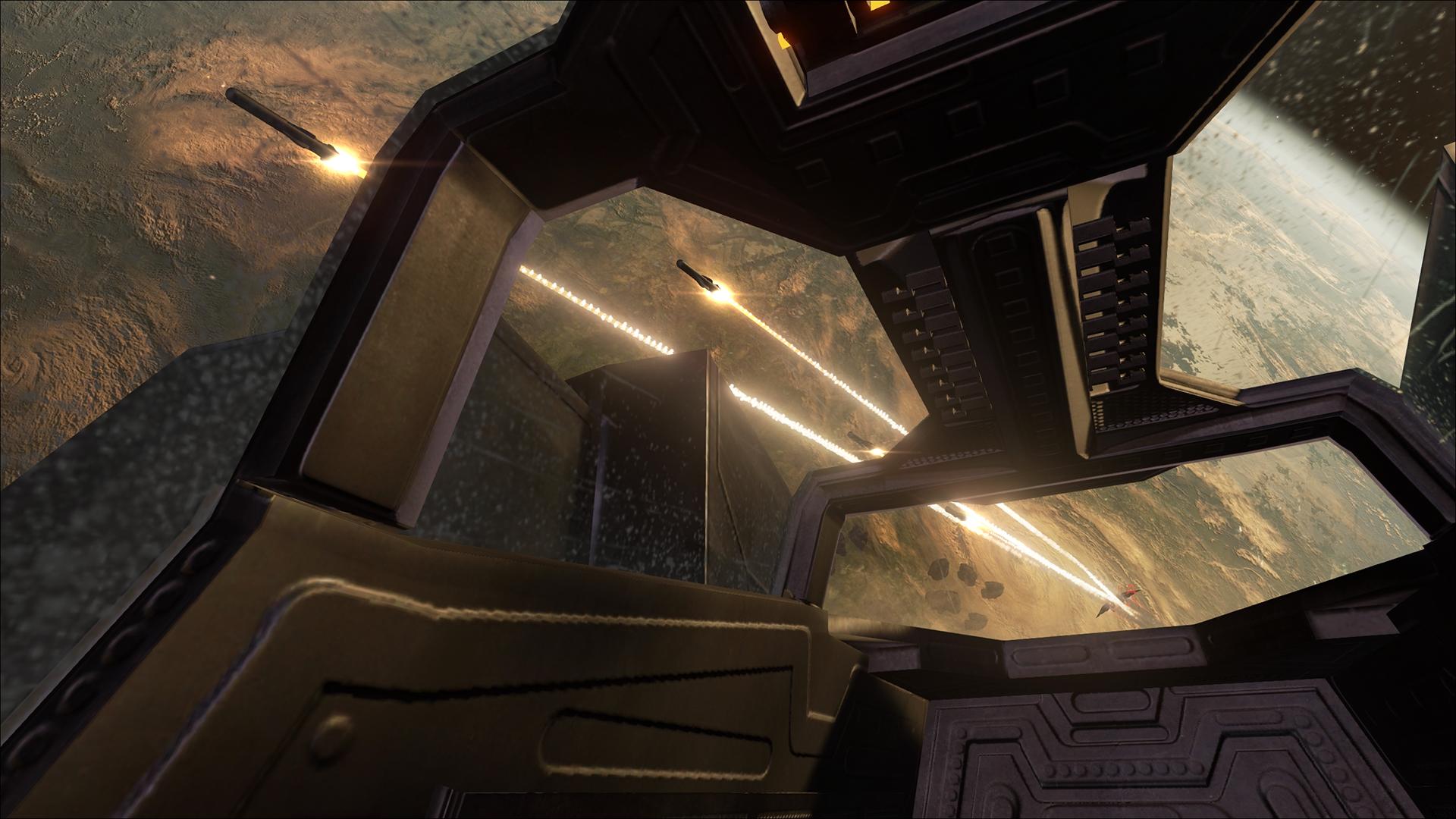 Det blir virtuell romskipsaction i EVE: Valkyrie.