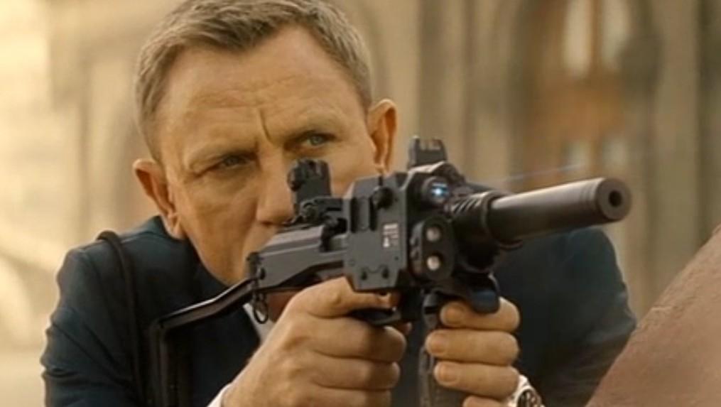 Bilde fra den nyeste James Bond-filmen Spectre.