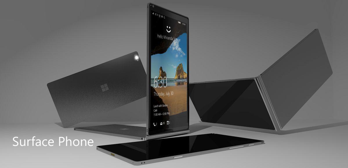 Surface Phone Concept 2016 - Laget av Lucas Silva.