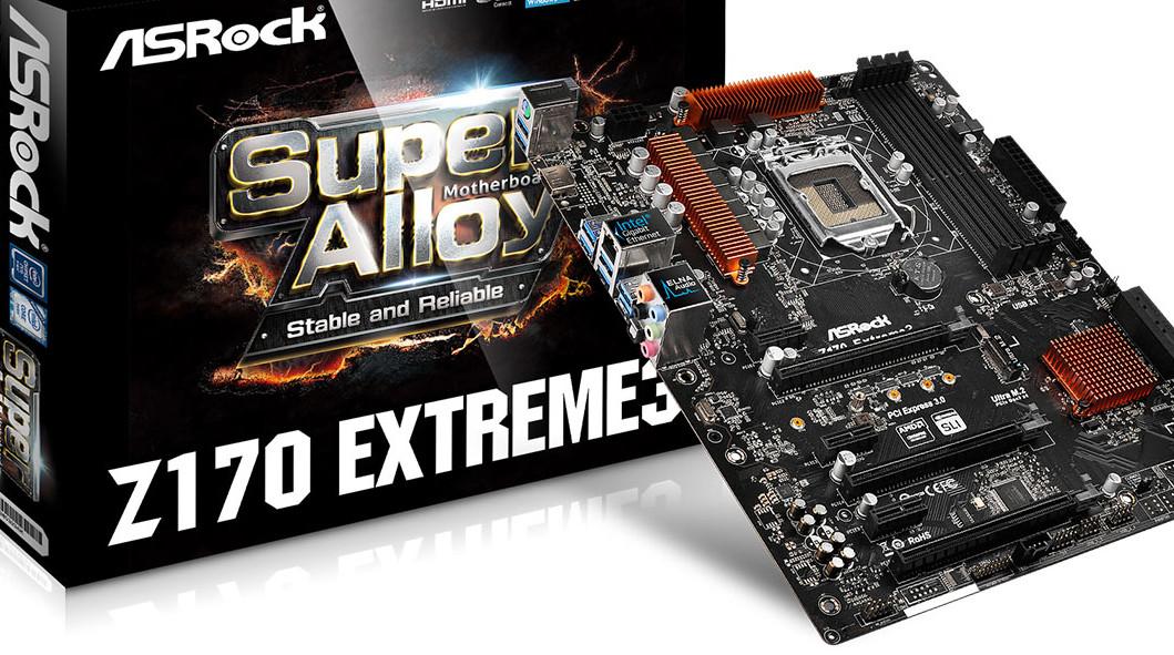 Asrock-hovedkort får BIOS-oppdateringer som gjør det mulig å overklokke Intel Skylake-CPU-er.