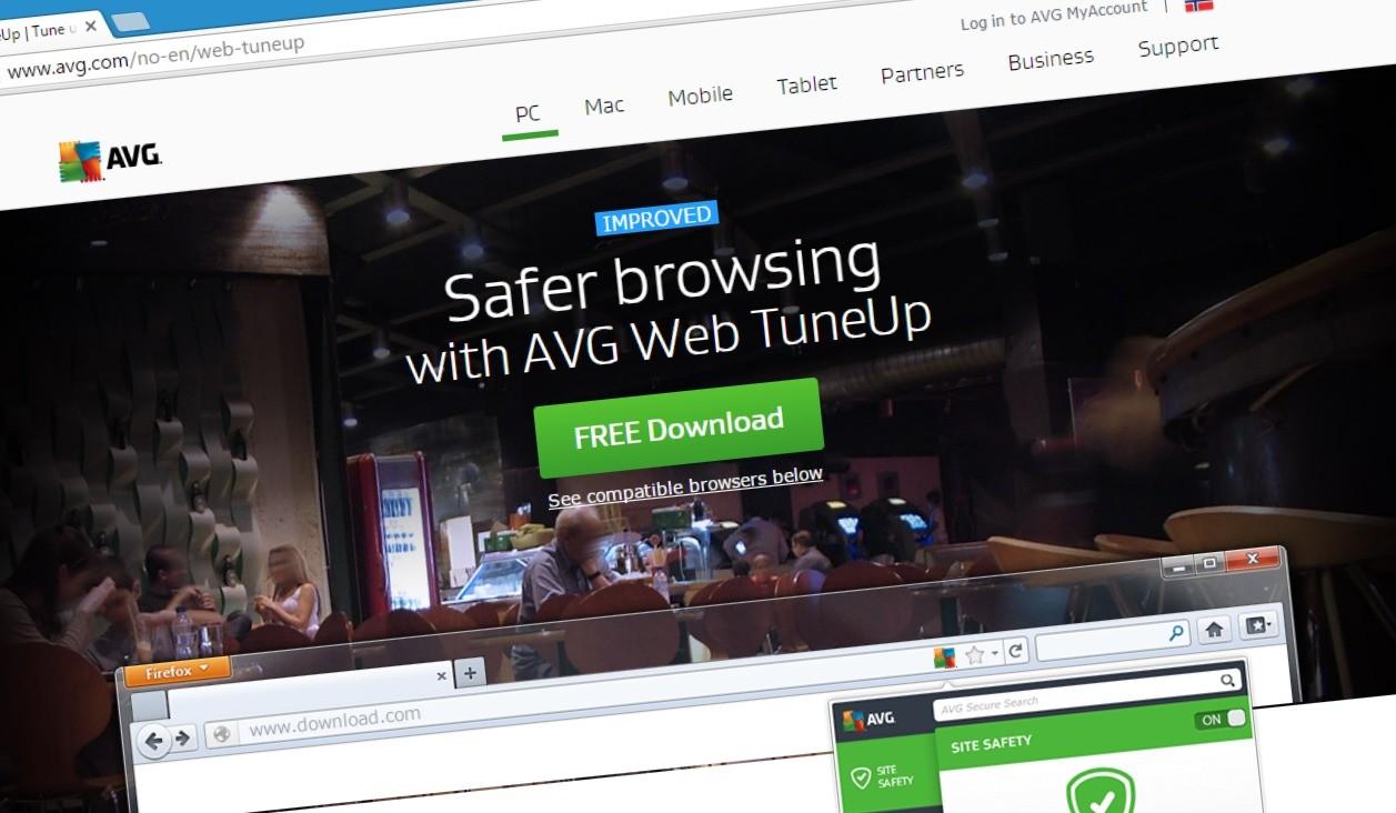 AVG Web Tuneup fungerte ikke som planlagt.