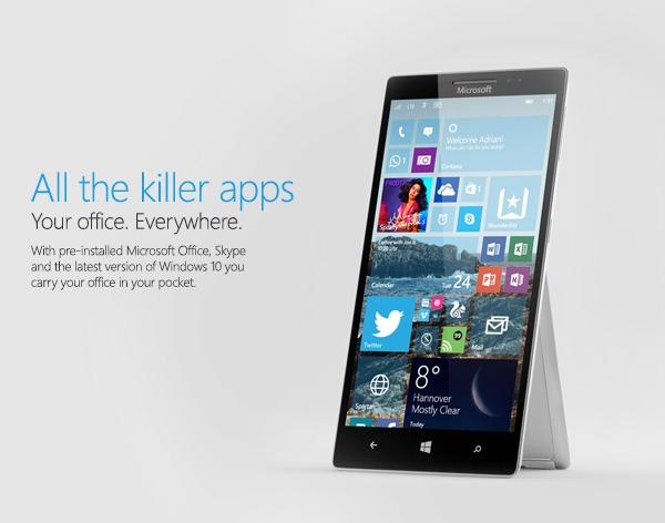 Lekkert Surface Phone-konsept fra Nadir Aslam. Nå blir trolig en slik mobil virkelighet.