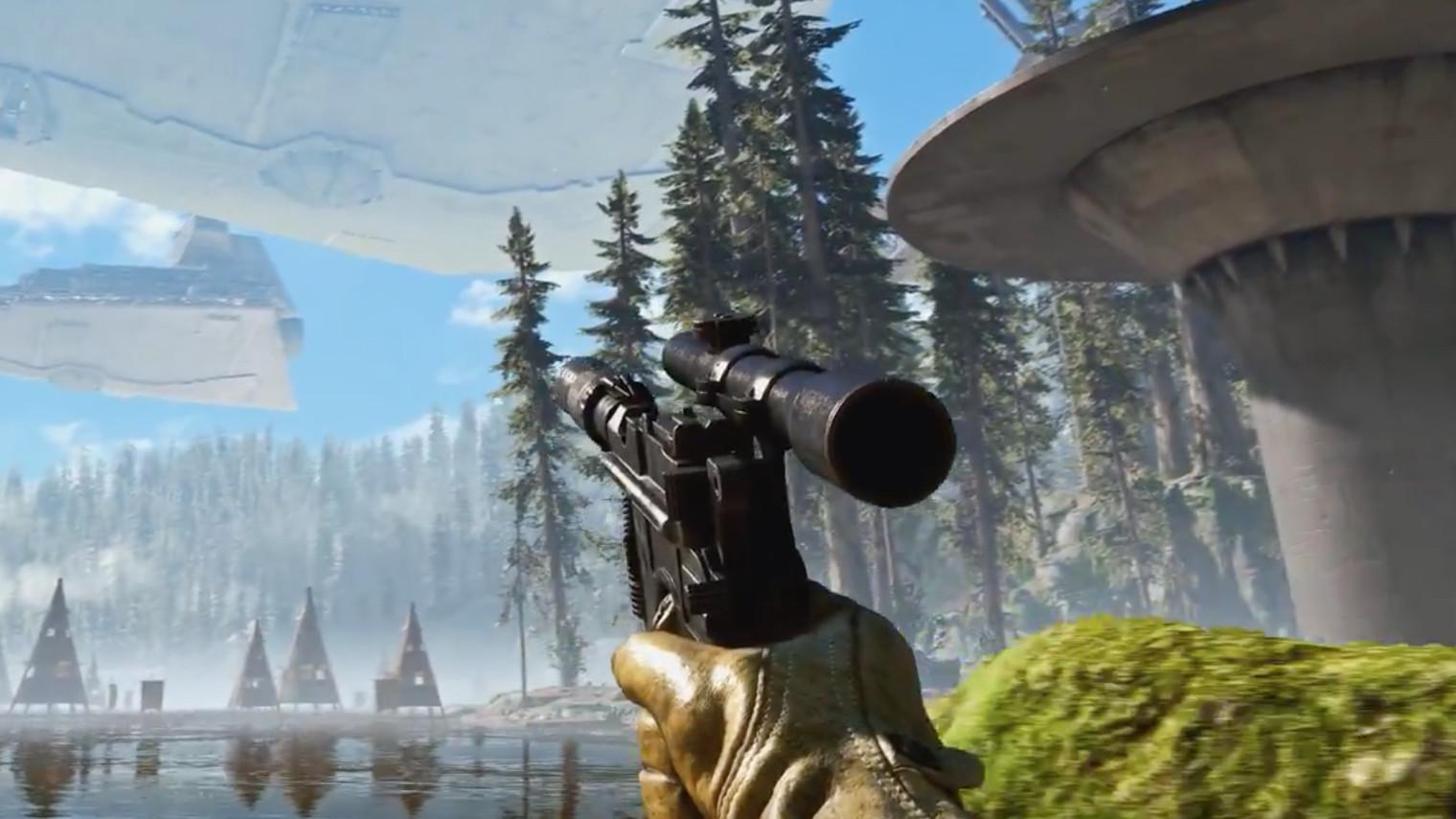 Battlefront i 4K-oppløsning er helt rått.