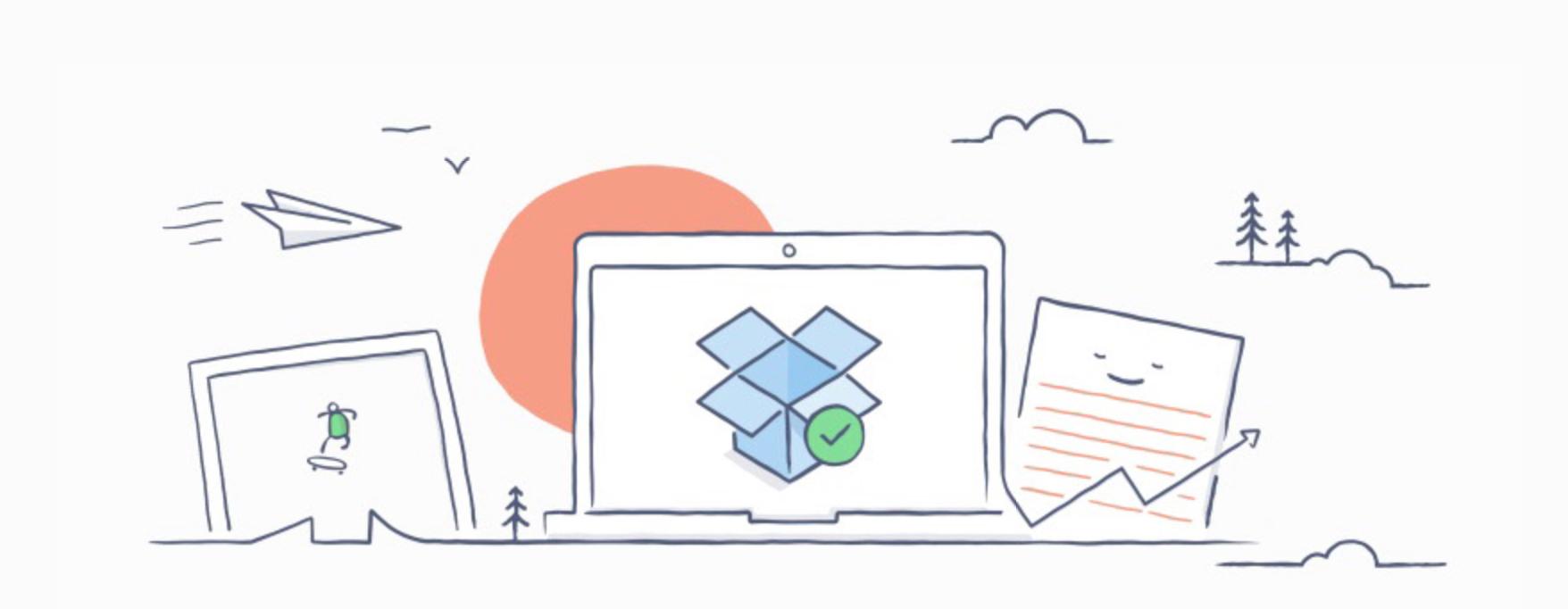 Dropbox gir opp sine to store håp. Nå blir de beste funksjonene en del av Dropbox.