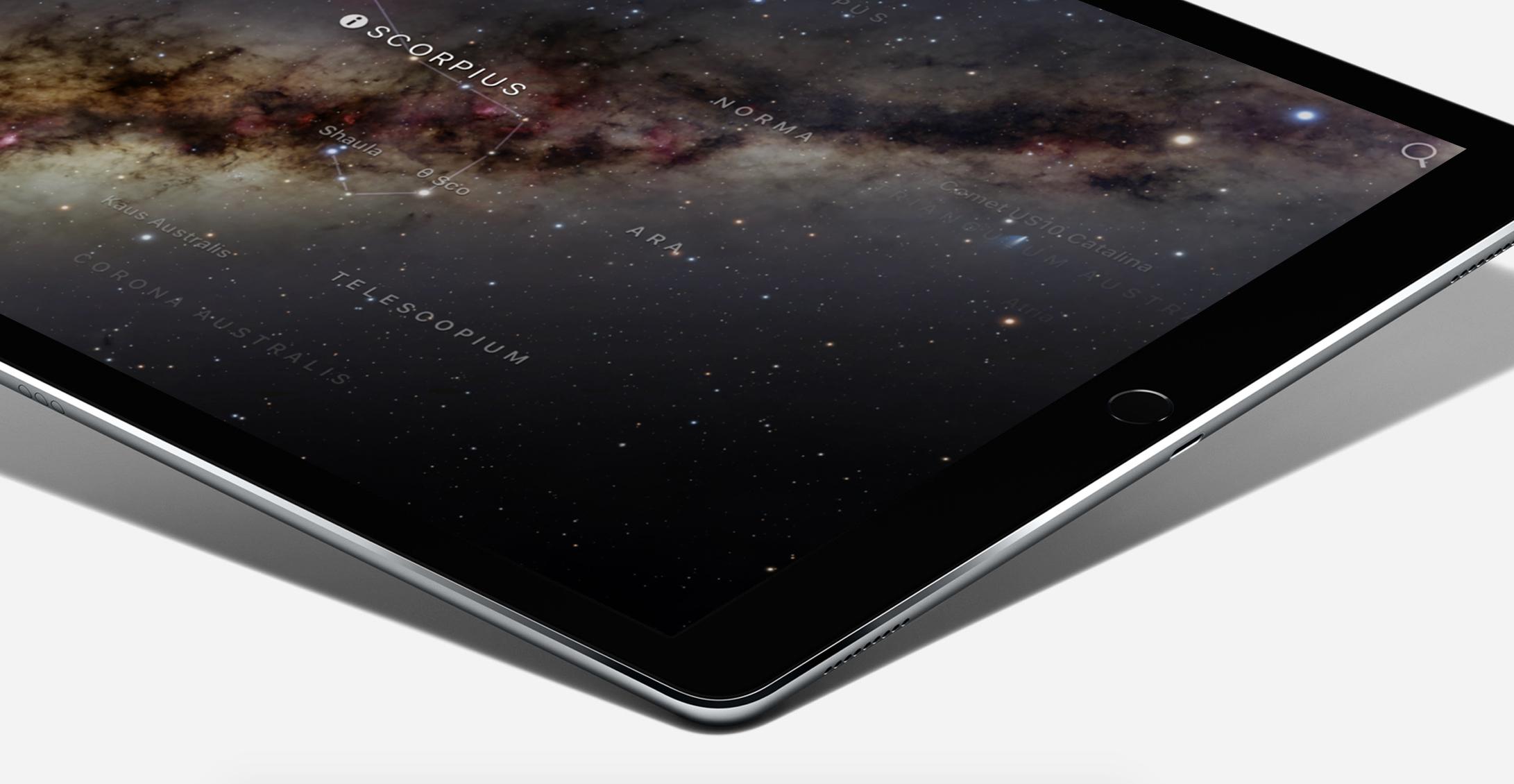iPad Pro støtter USB 3.0-hastigheter.