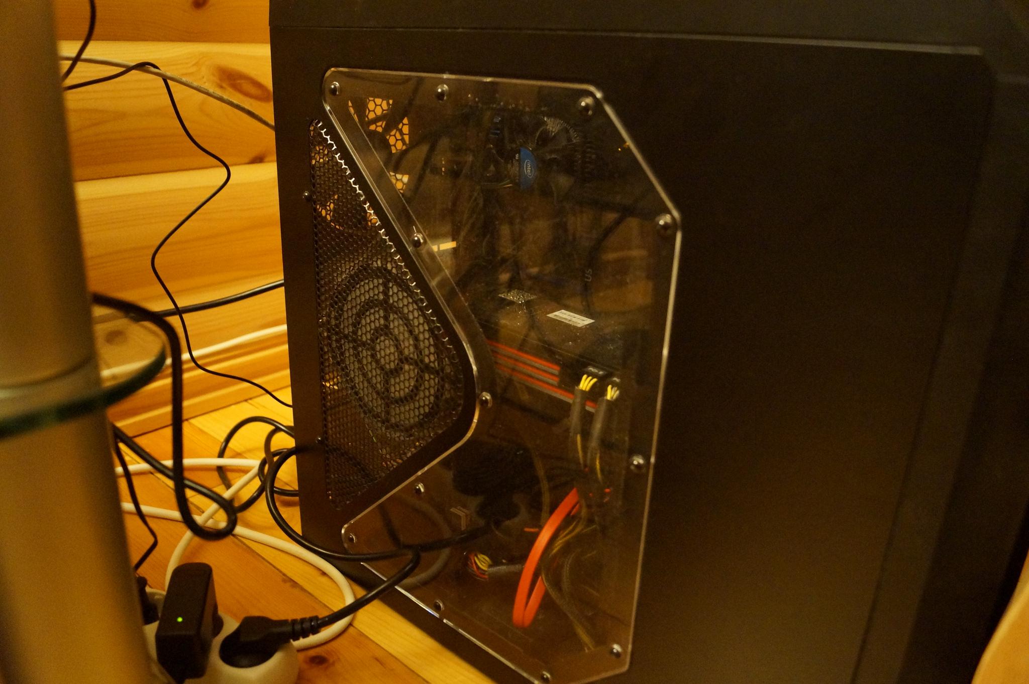 Denne PC-en er blant beslagene KRIPOS har gjort.