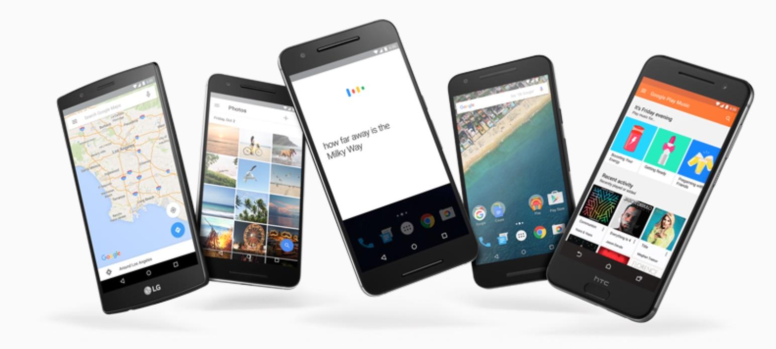 Android 6.0.1 inneholder feilrettinger av sikkerhetshull.