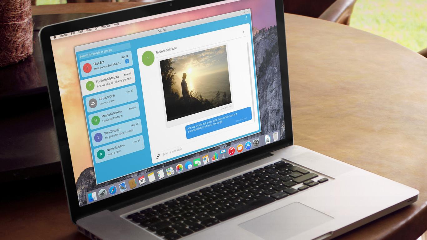 Signal for Desktop er tilgjengelig i beta.