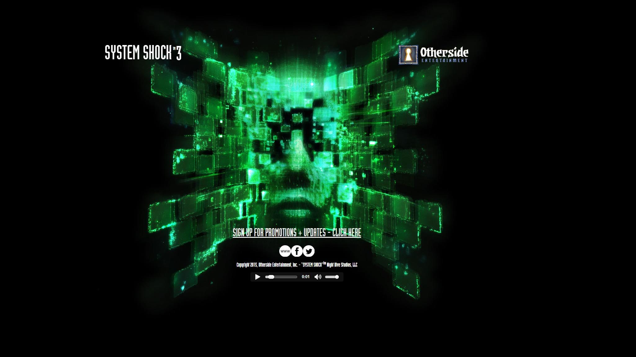 System Shock 3 er nå offisielt.