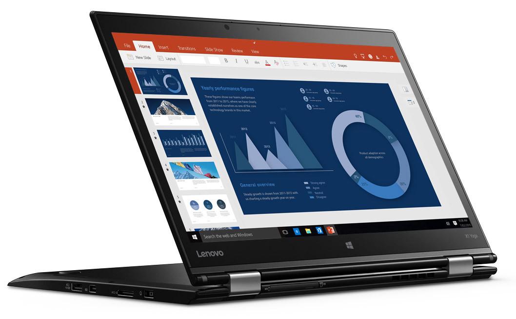 X1 Yoga er en av de første PC-ene med OLED-skjerm.
