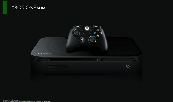 XBOX One Slim - Concept ART