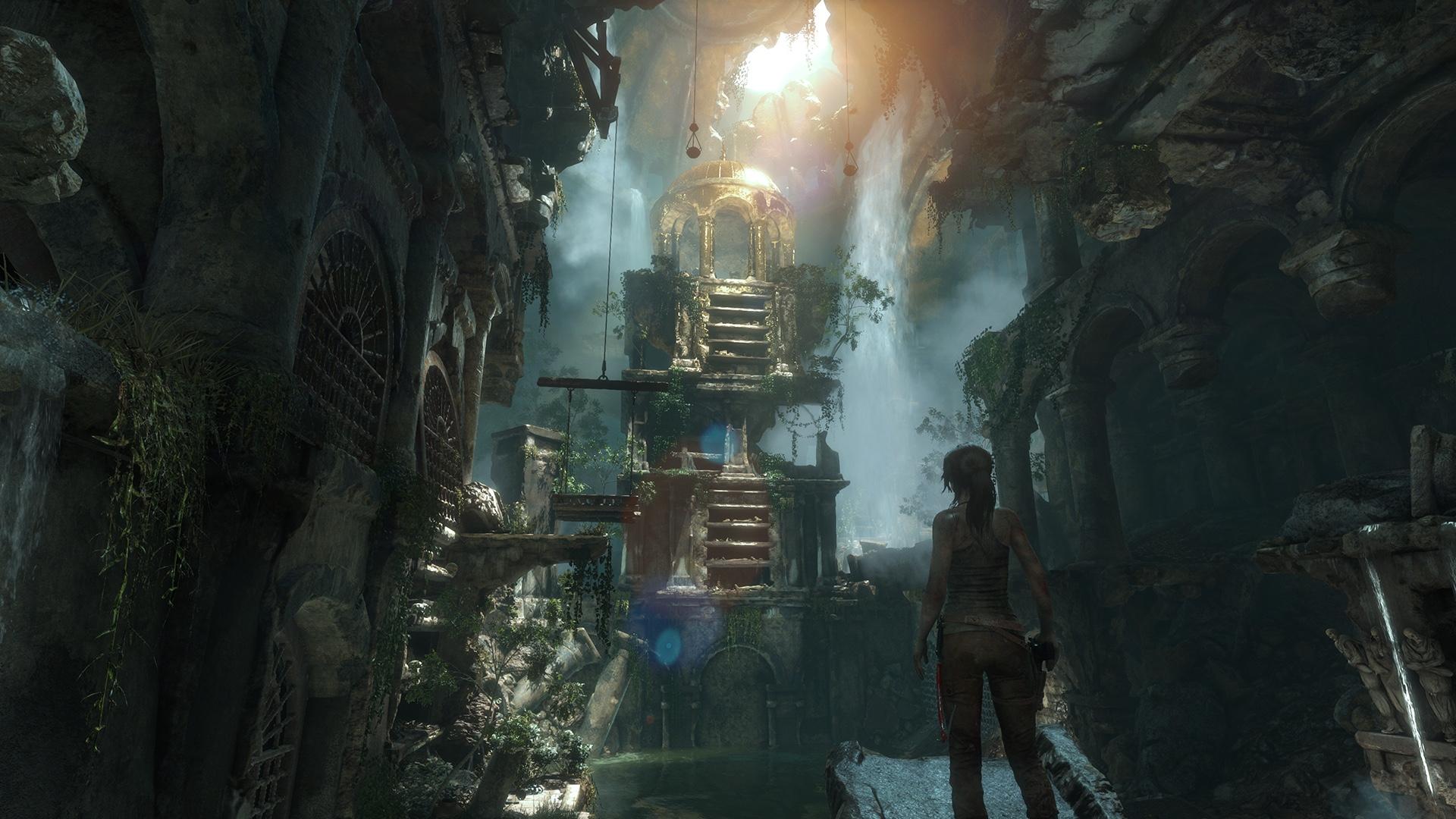 Rise of the Tomb Raider er et strålende spill det er verdt å sjekke ut - nå er det lansert til PC. AMD og Nvidia kappes om best ytelse.