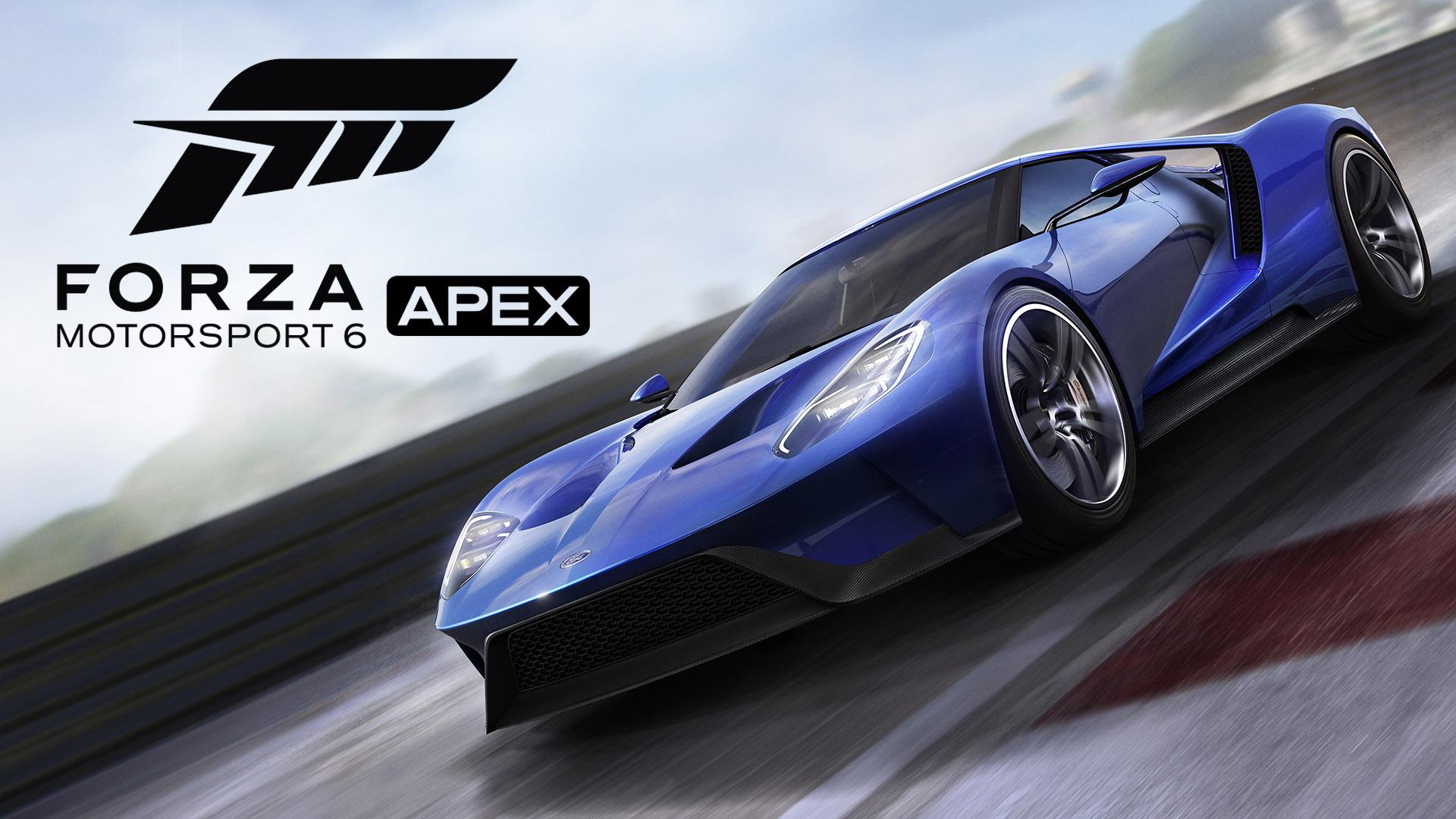 Forza 6 Apex lanseres gratis til Windows 10 i løpet av våren.