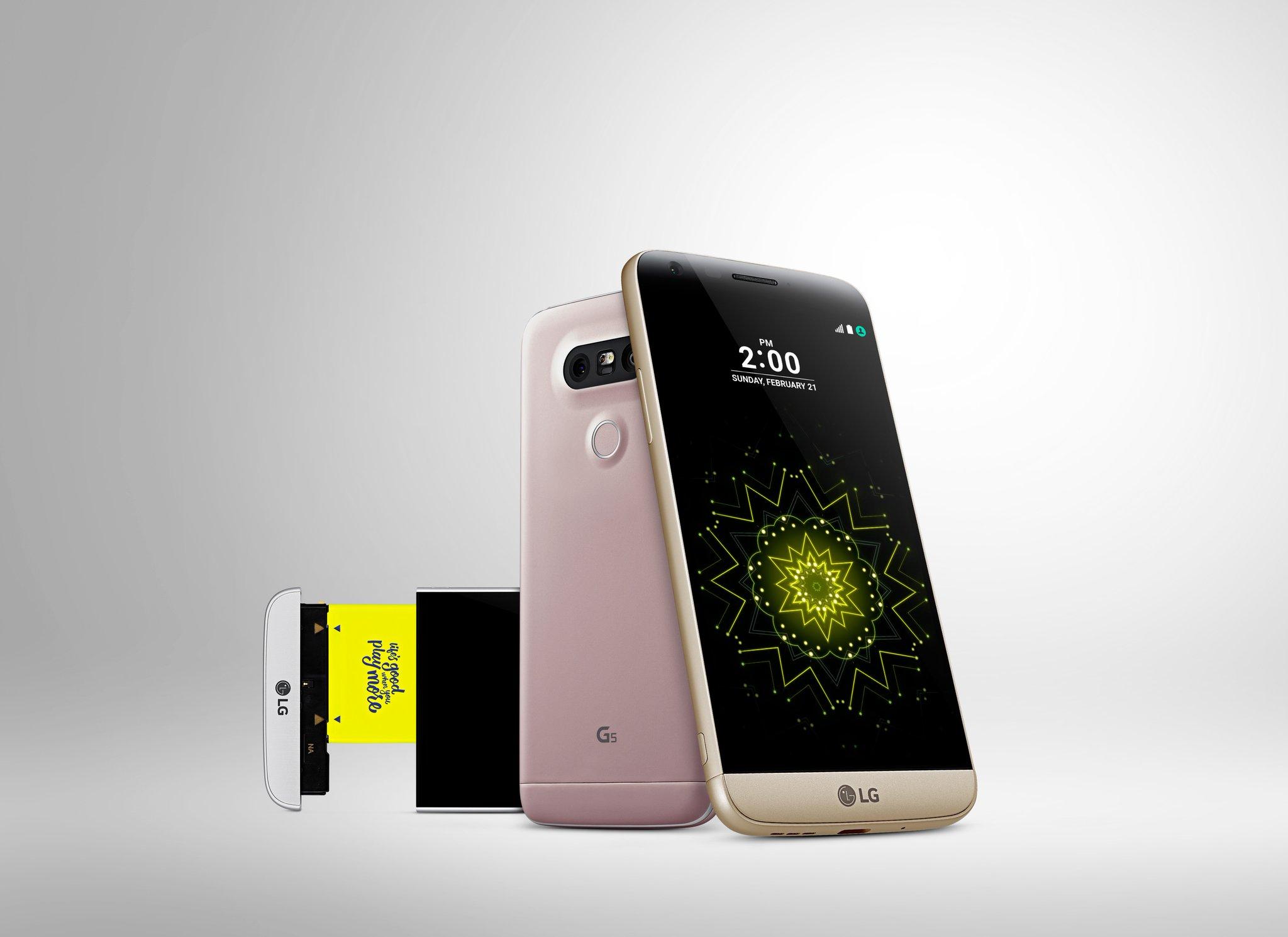LG G5 ble lansert idag.