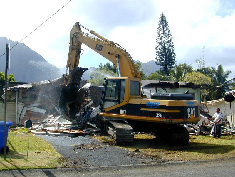 Feil hus ble slått til pinneved etter en feil i Google Maps.