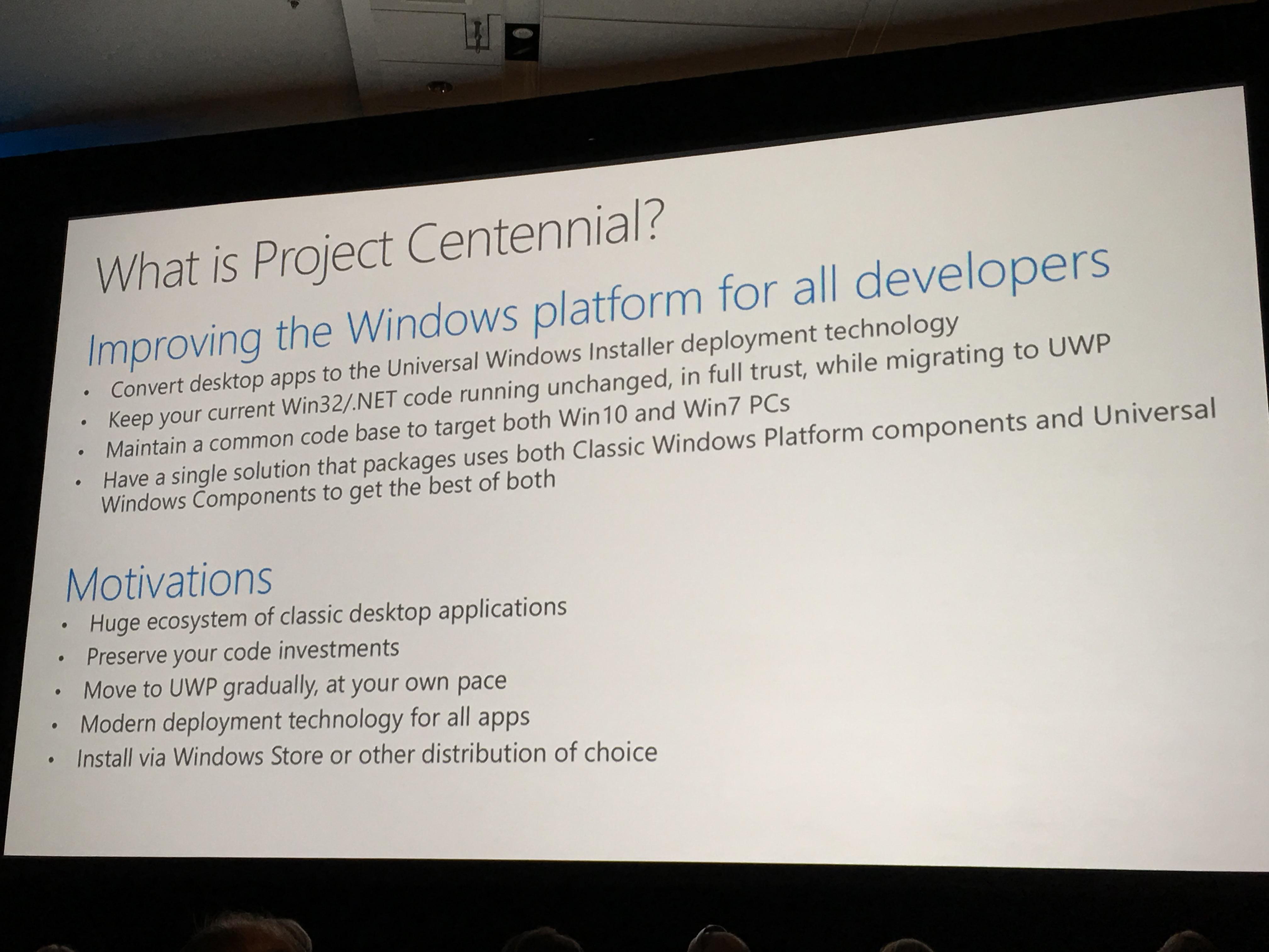 Det er på tide å komme seg over til den nye distromodellen, men Microsoft ønsker ikke å stresse utviklerne heller.