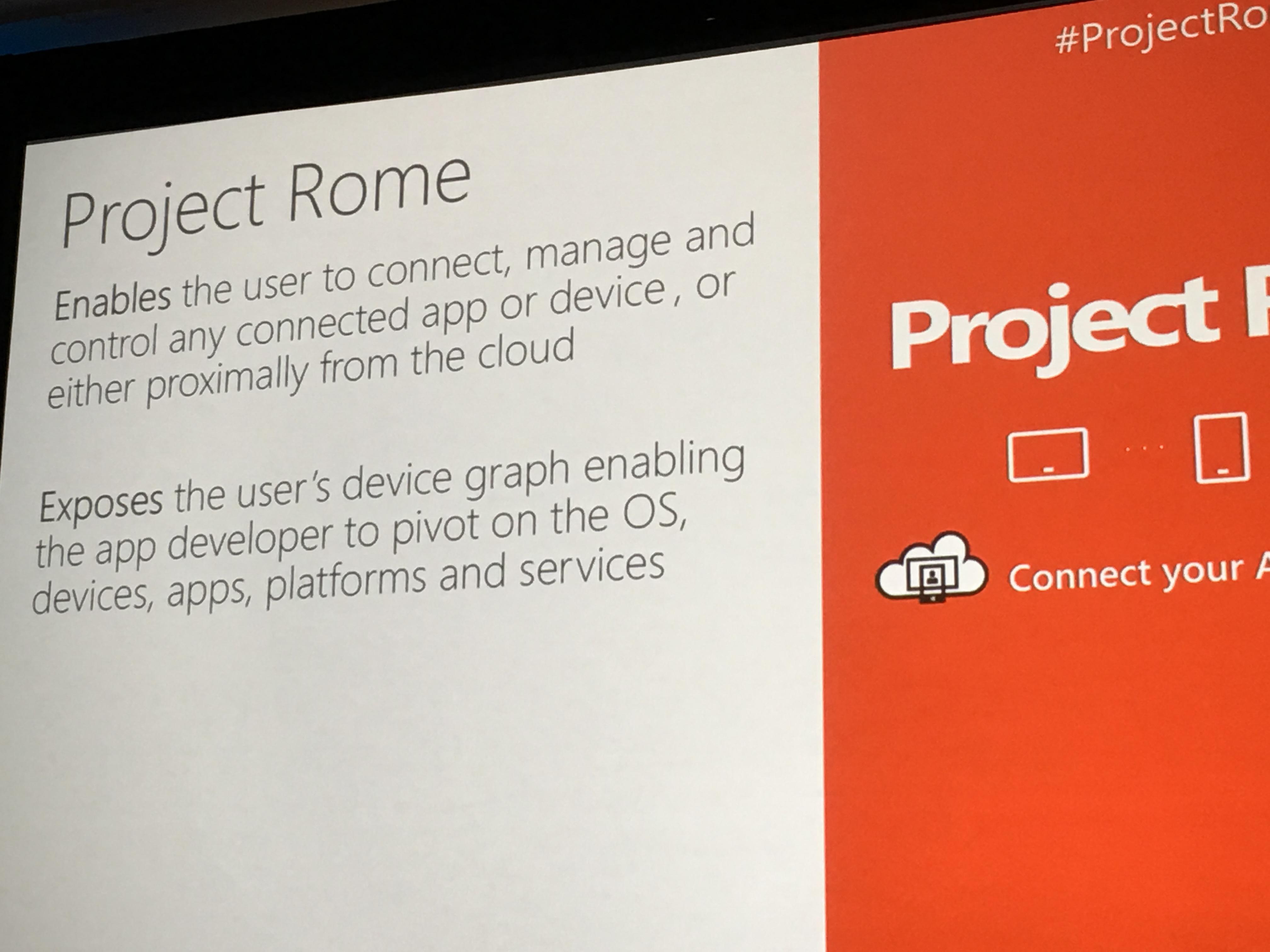 Project Rome handler om å koble sammen enhetene til brukeren sømløst - hvem orker vel kabler?